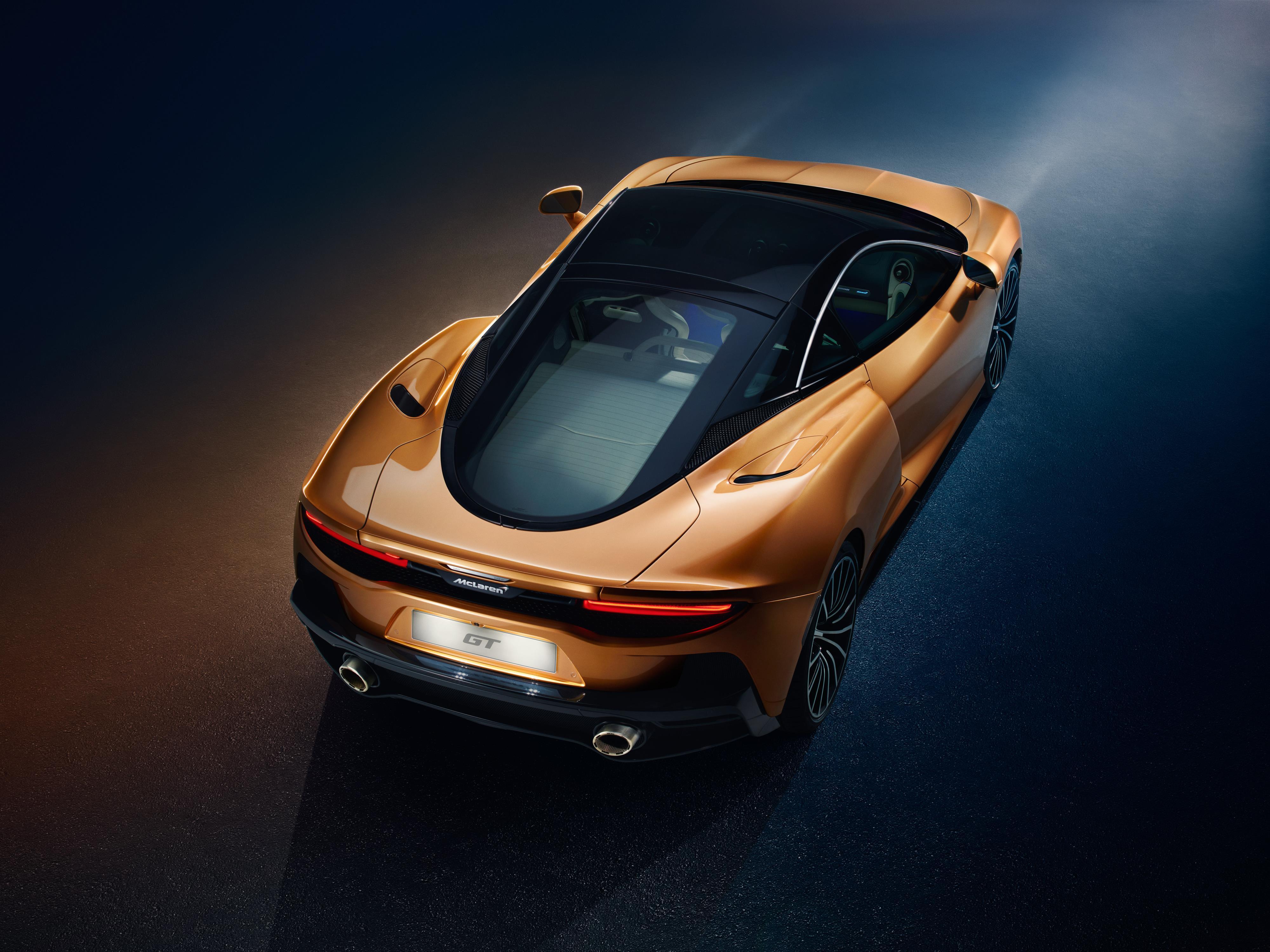 McLaren GT Panoramic Roof