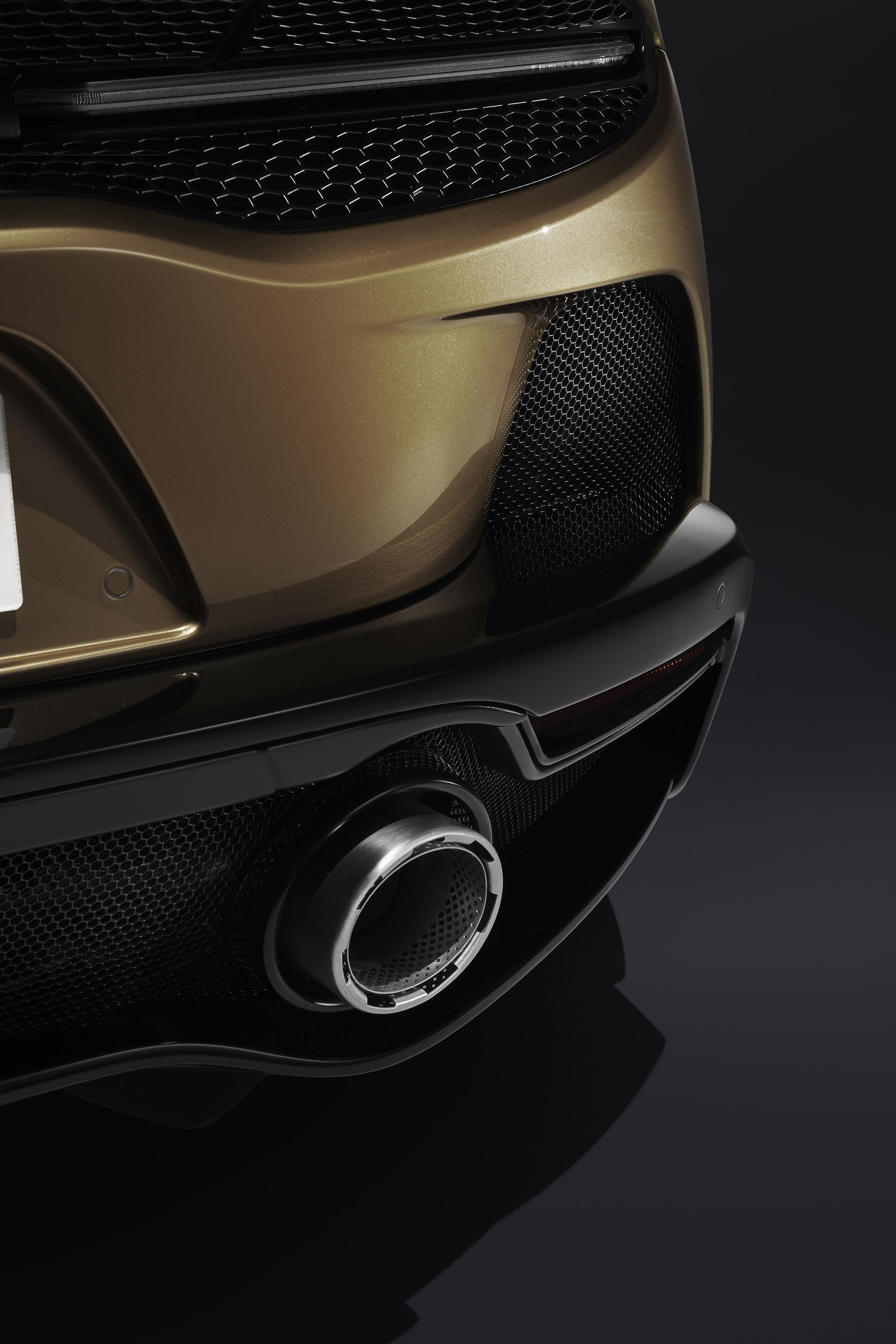 McLaren GT Exhaust Pipe