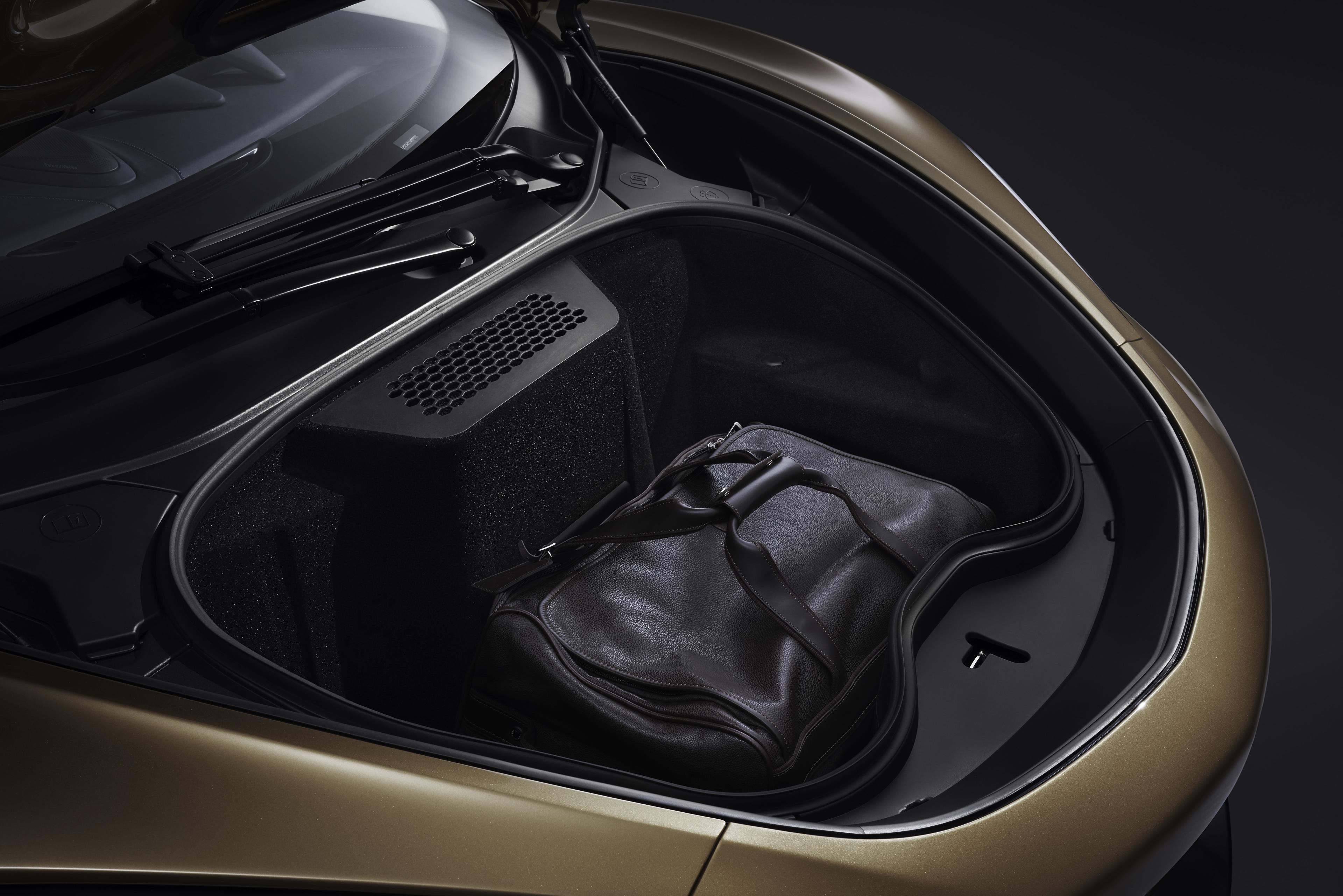 McLaren GT Front Trunk