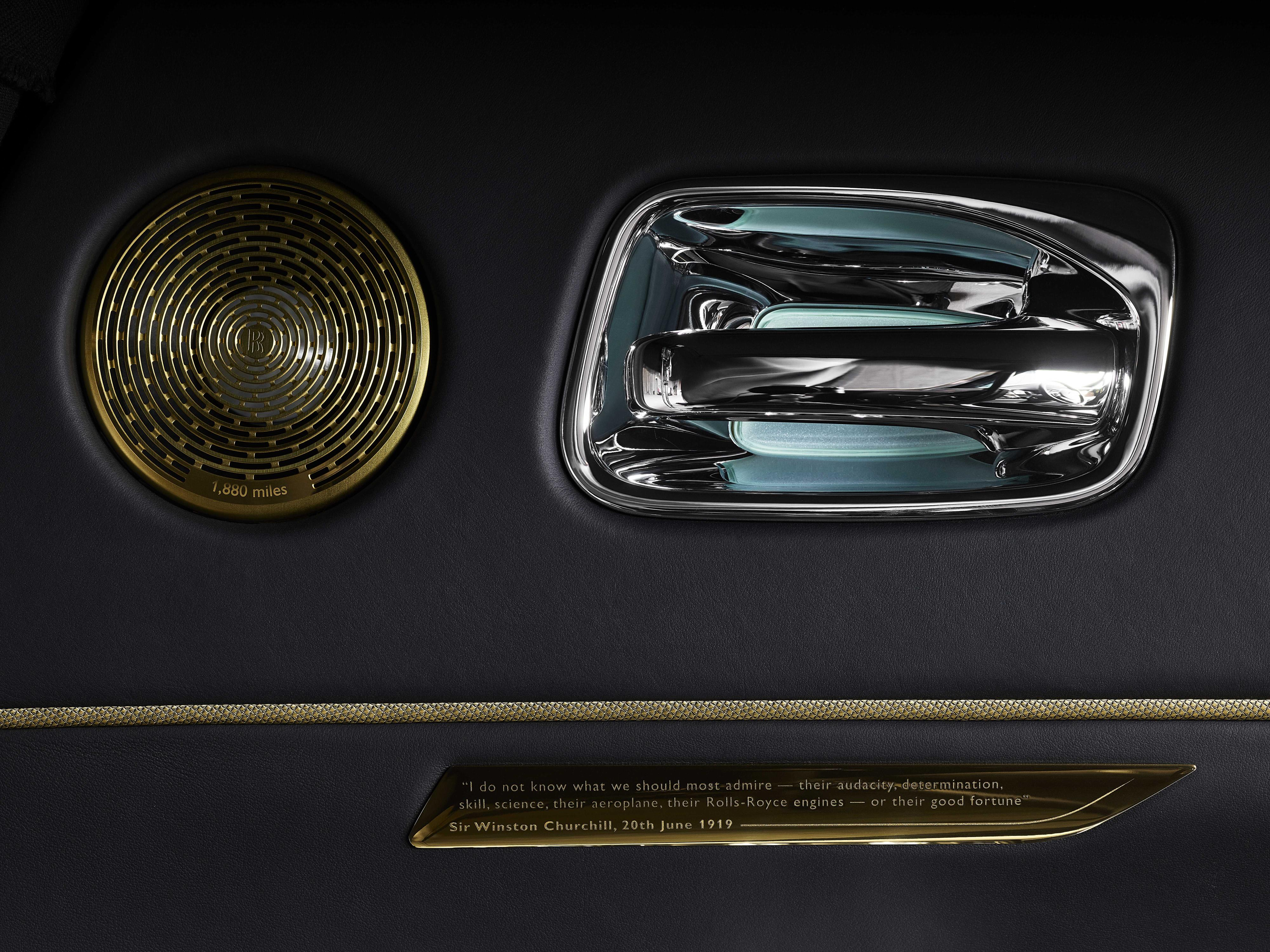 Rolls-Royce Wraith Door Handle