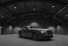 Rolls-Royce Wraith Eagle VIII Front