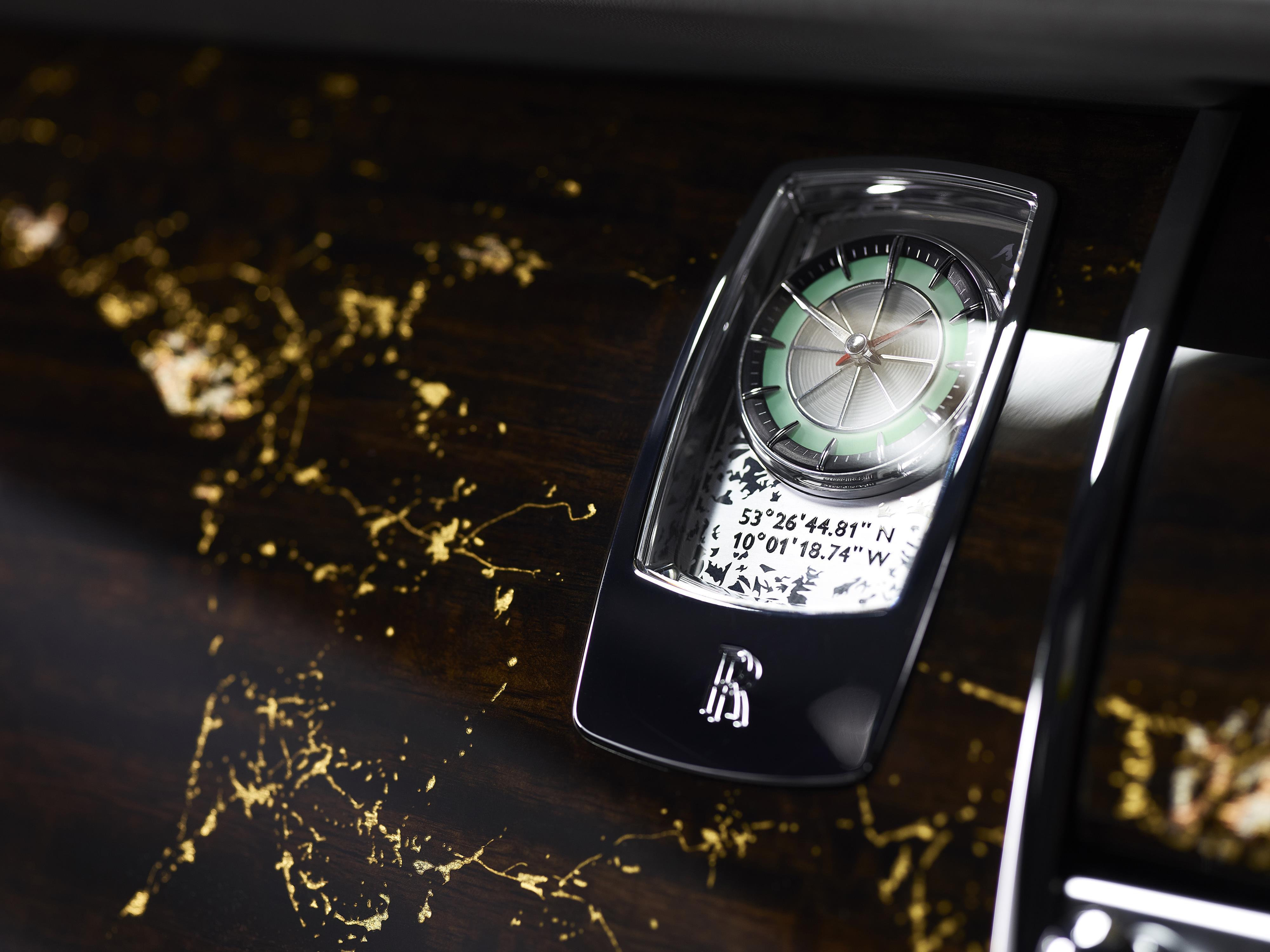 Rolls-Royce Wraith Clock