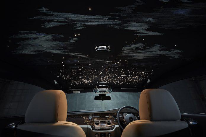 Rolls-Royce Wraith Starry Roof