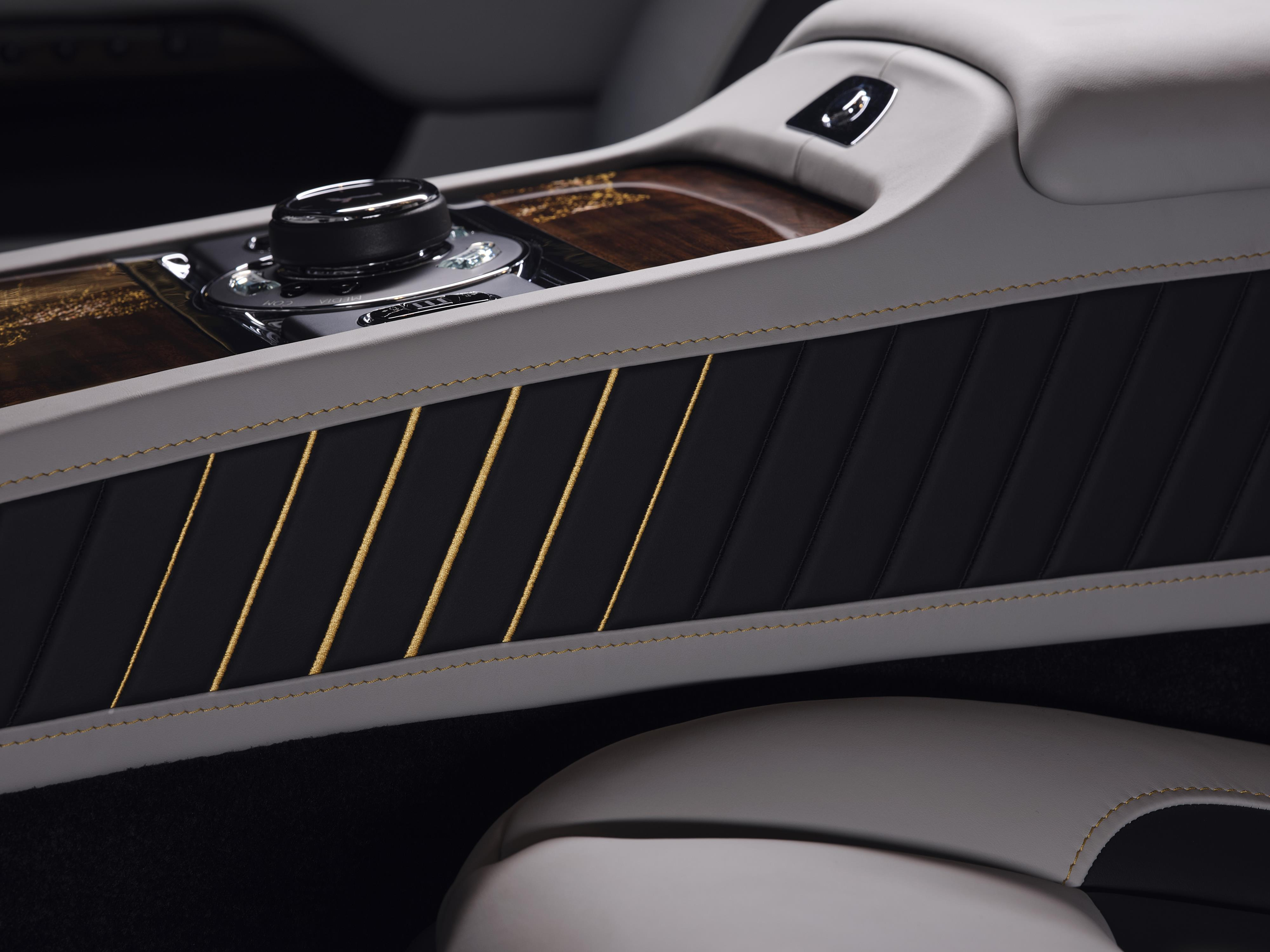 Rolls-Royce Wraith Center Console