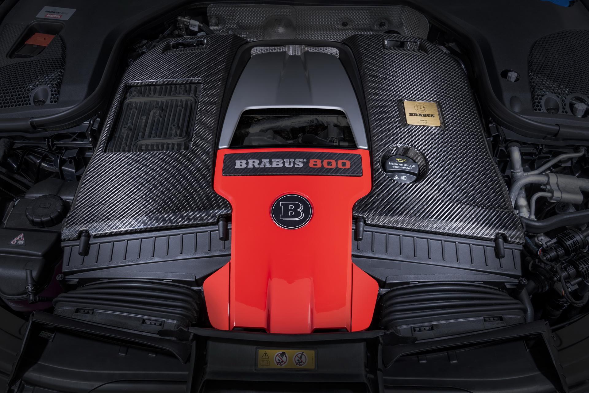 Brabus GT63 S AMG Engine