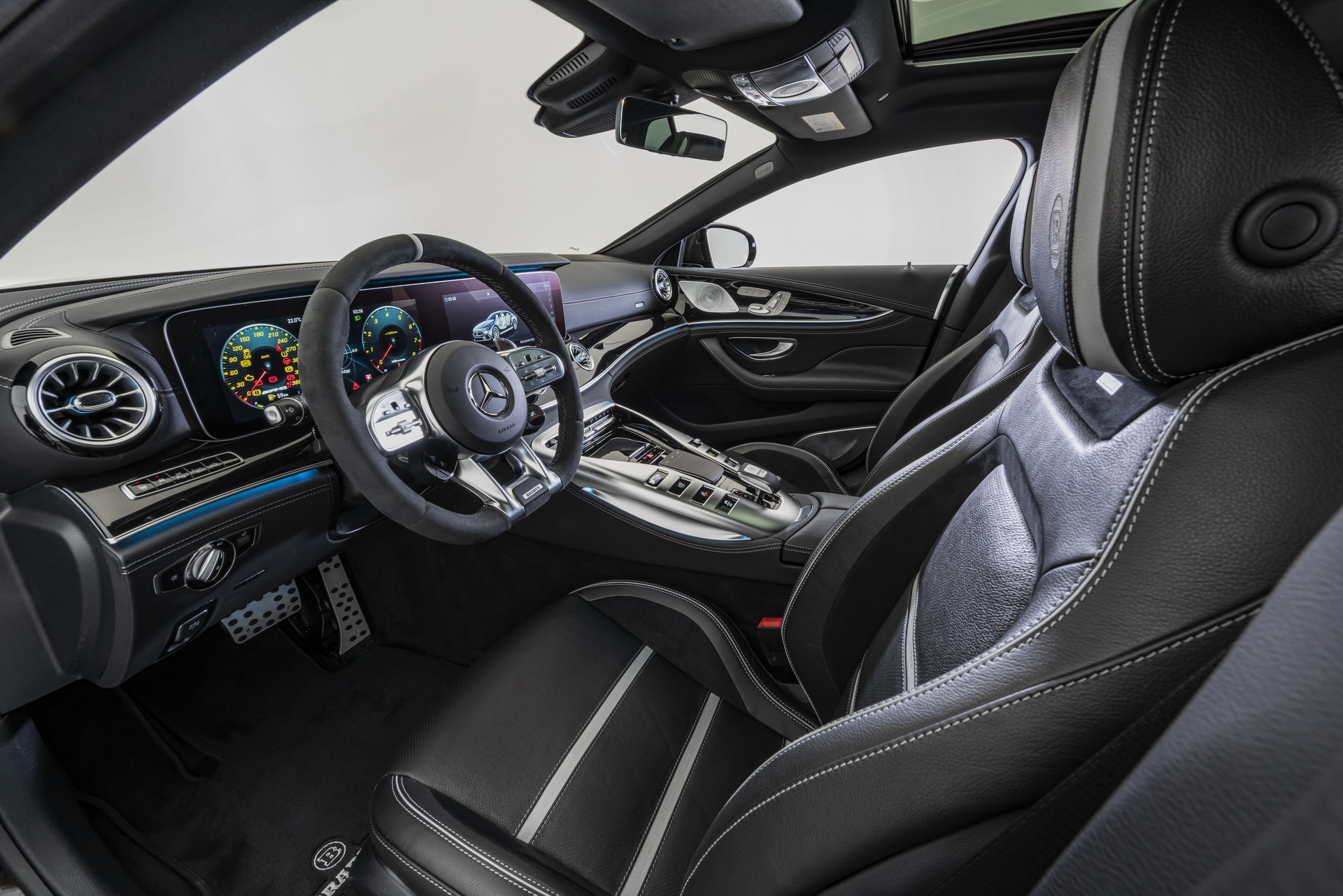 Brabus GT63 S AMG Steering Wheel