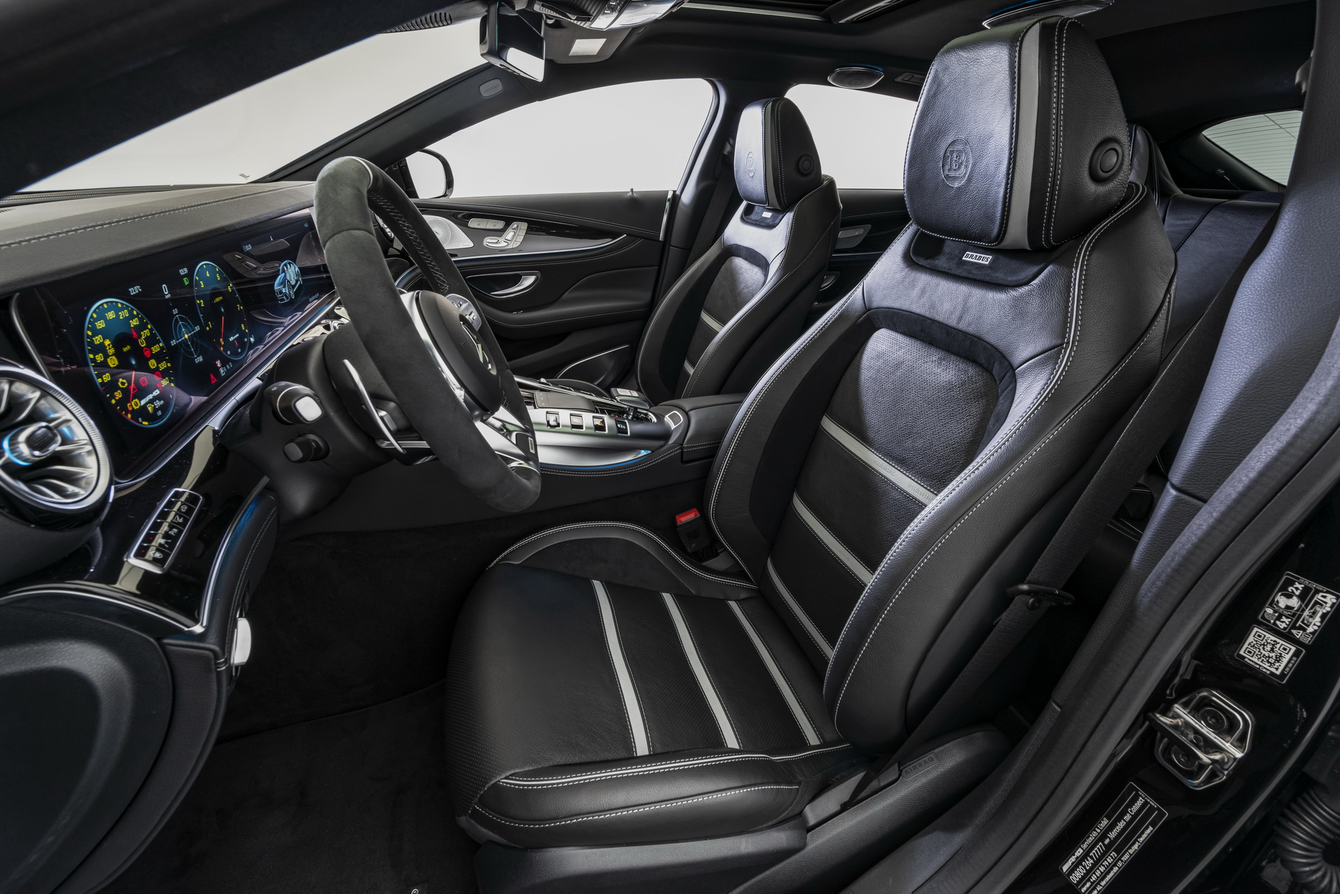 Brabus GT63 S AMG Seats