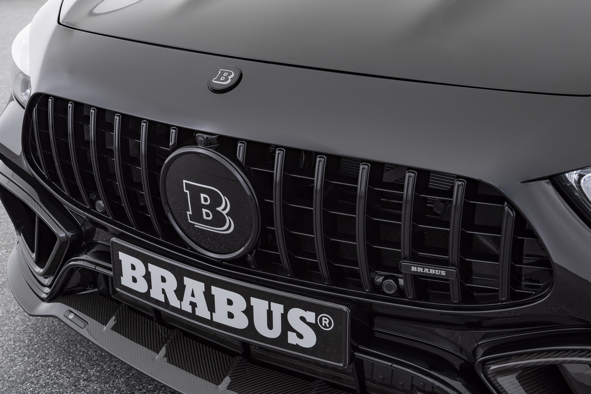 Brabus Logo Front Grille