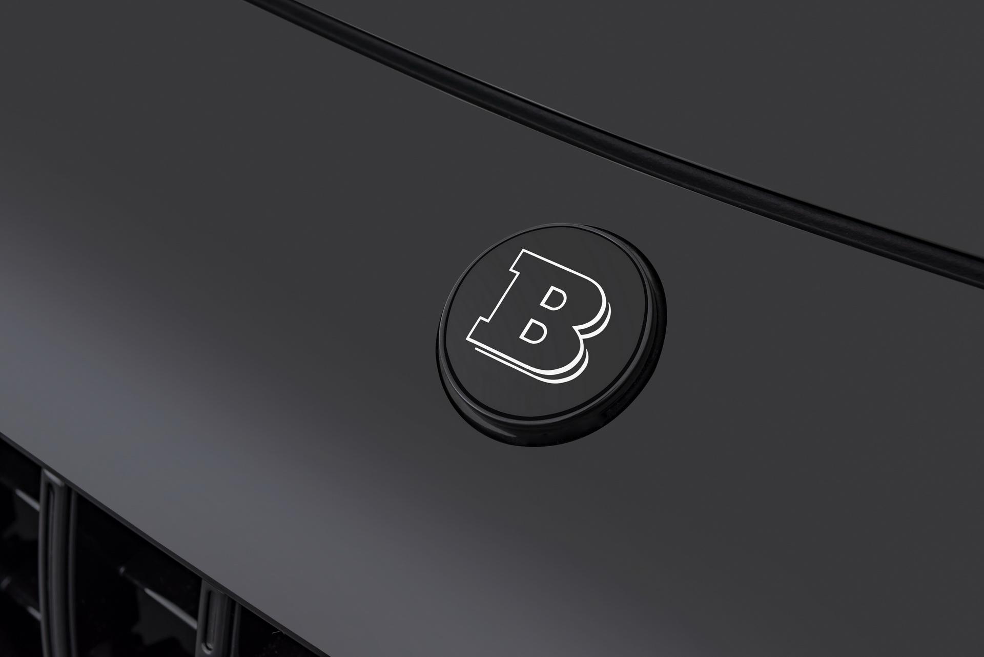 Brabus Logo Hood