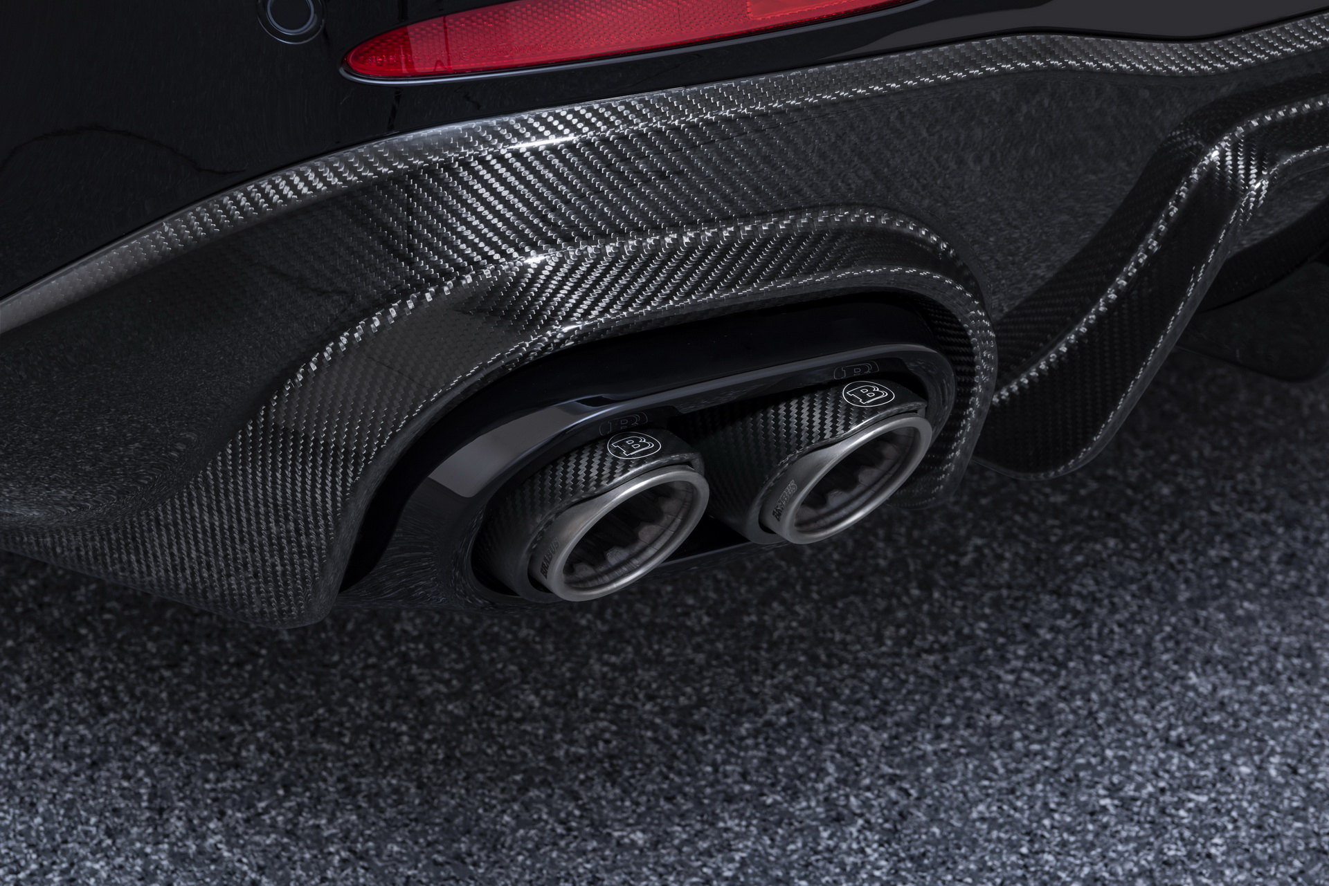 Brabus Exhaust Pipes