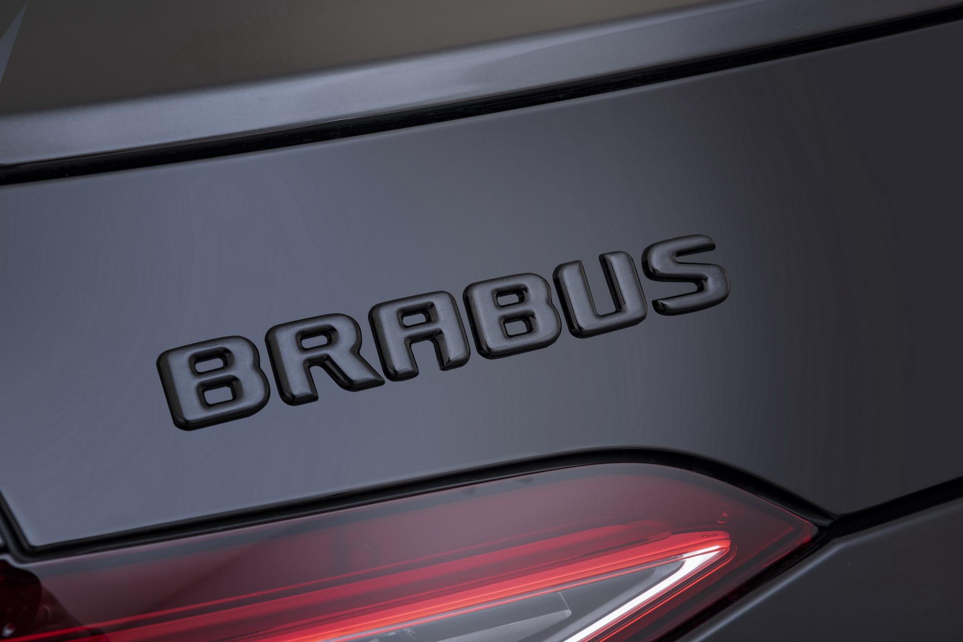 Brabus Rear Logo