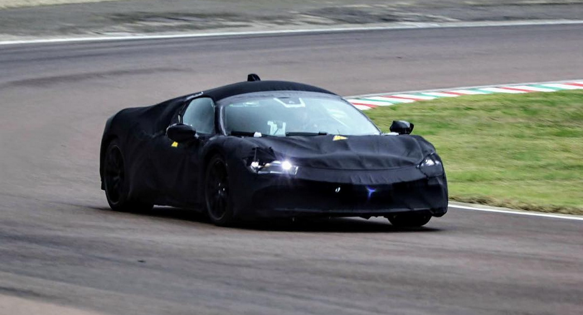 Hybrid Ferrari V8 To Debut May 31 With 968hp Sit Above 812 Superfast Gtspirit