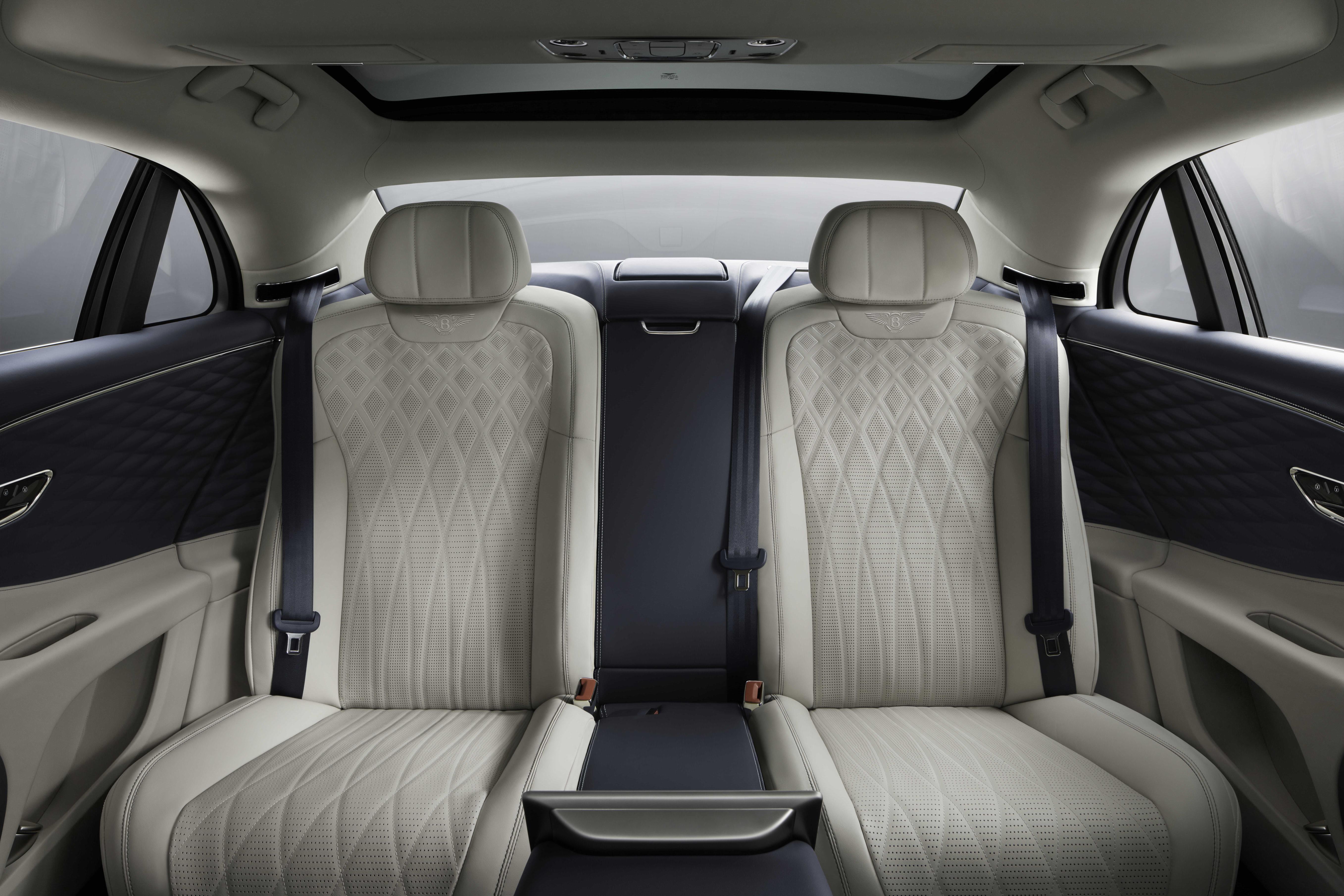 2020 Bentley Flying Spur Rear Seats