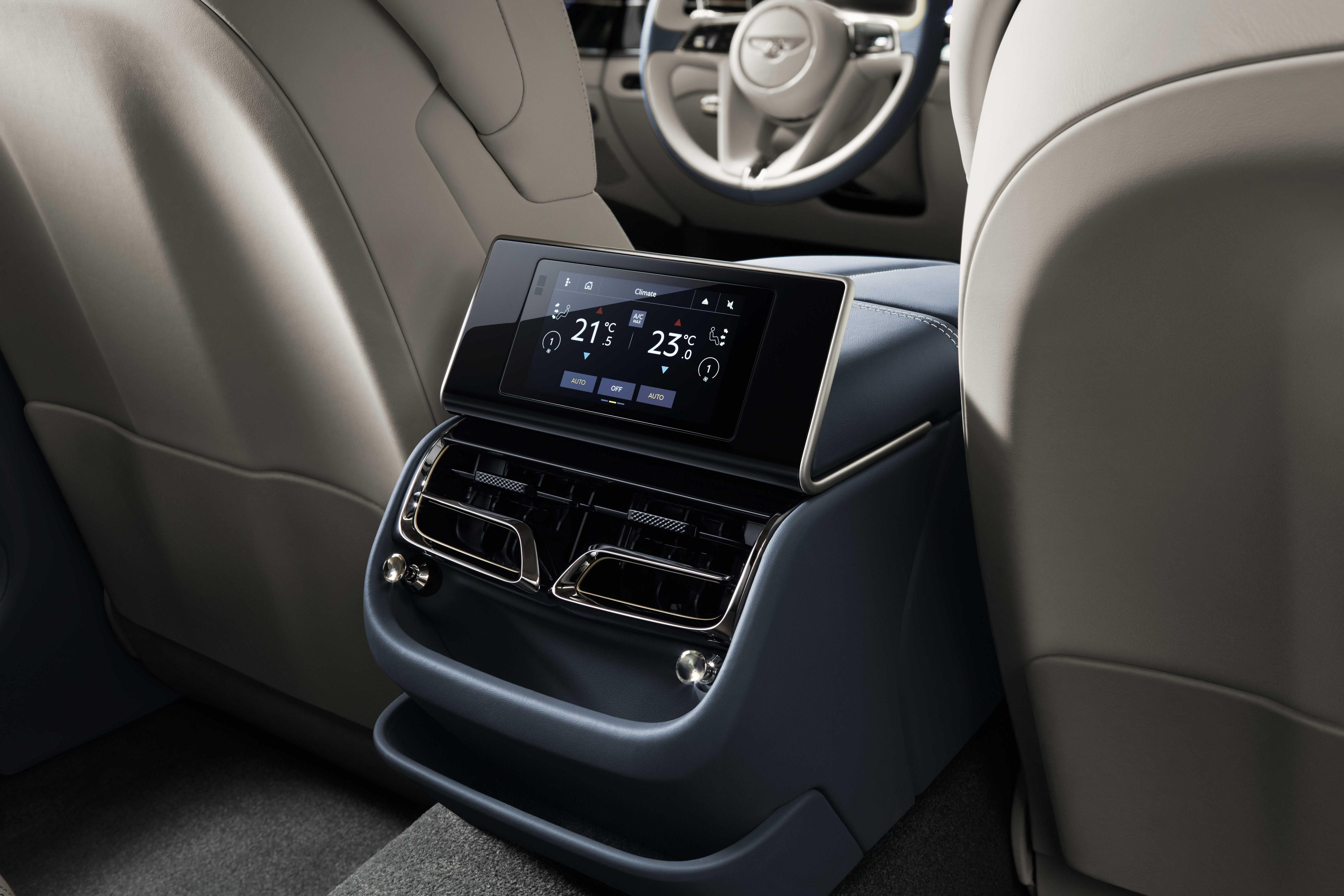Bentley Flying Spur Rear Console