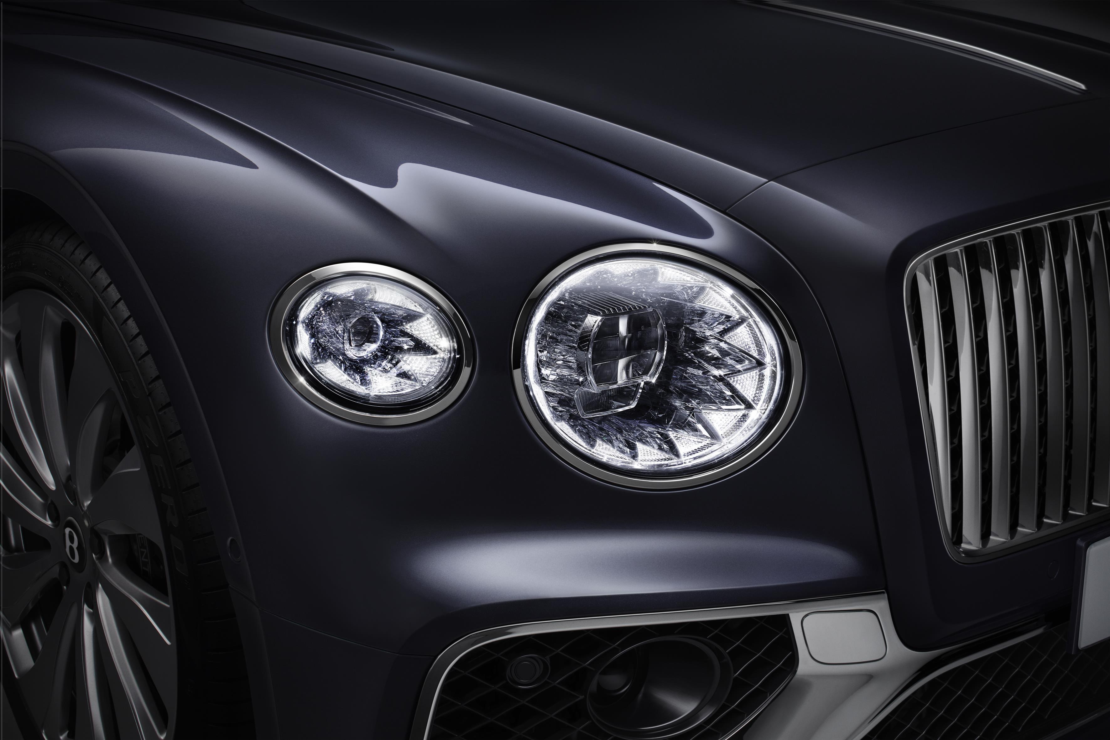 2020 Bentley Flying Spur Headlights