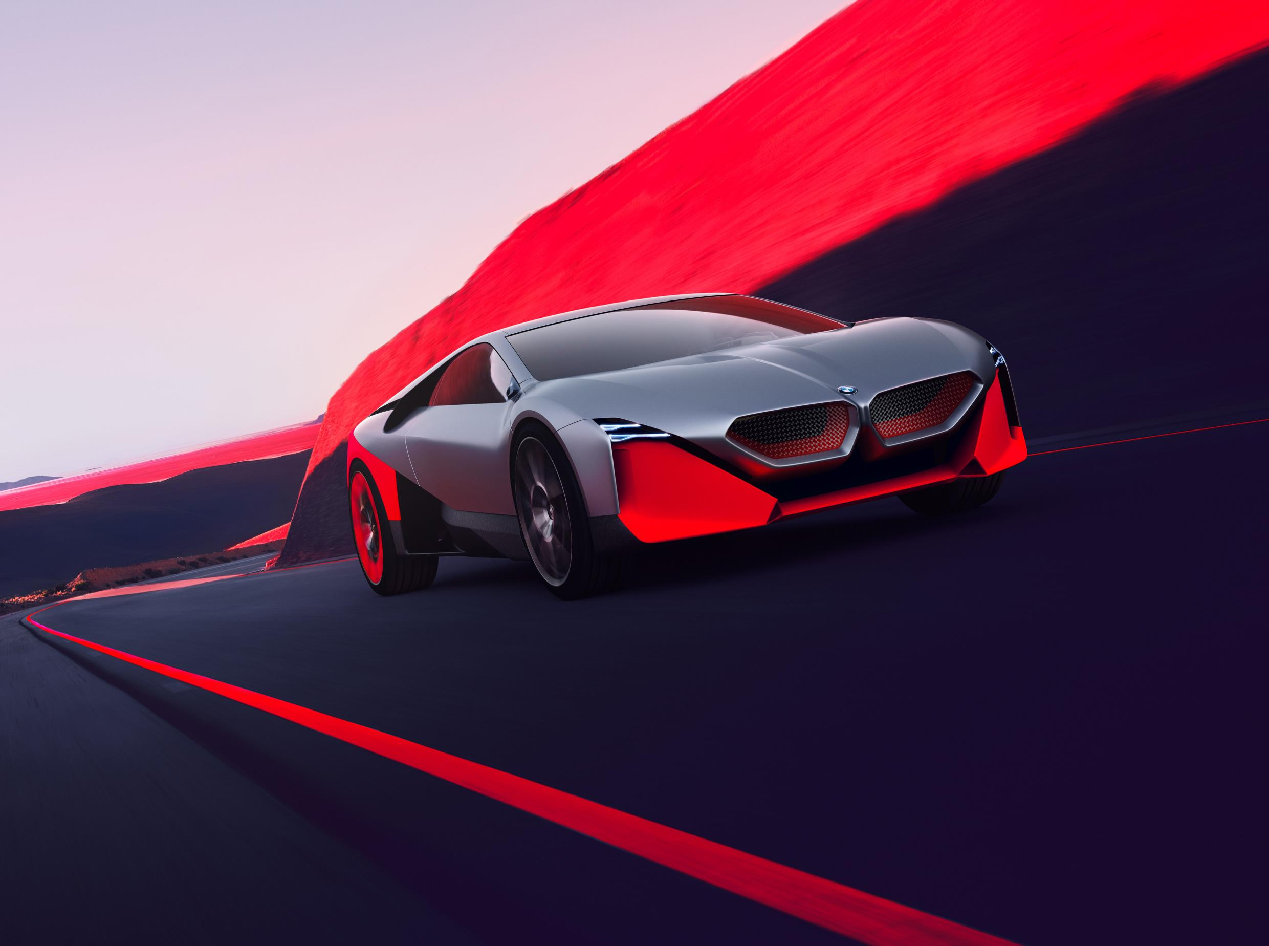 BMW Vision M NEXT Revealed with 600hp Hybrid Engine