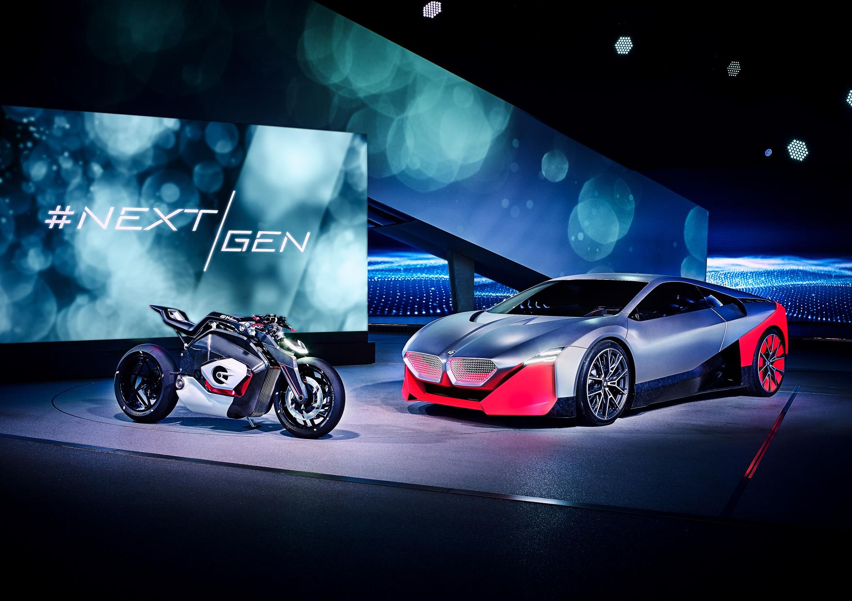 BMW Concept Bike and Car