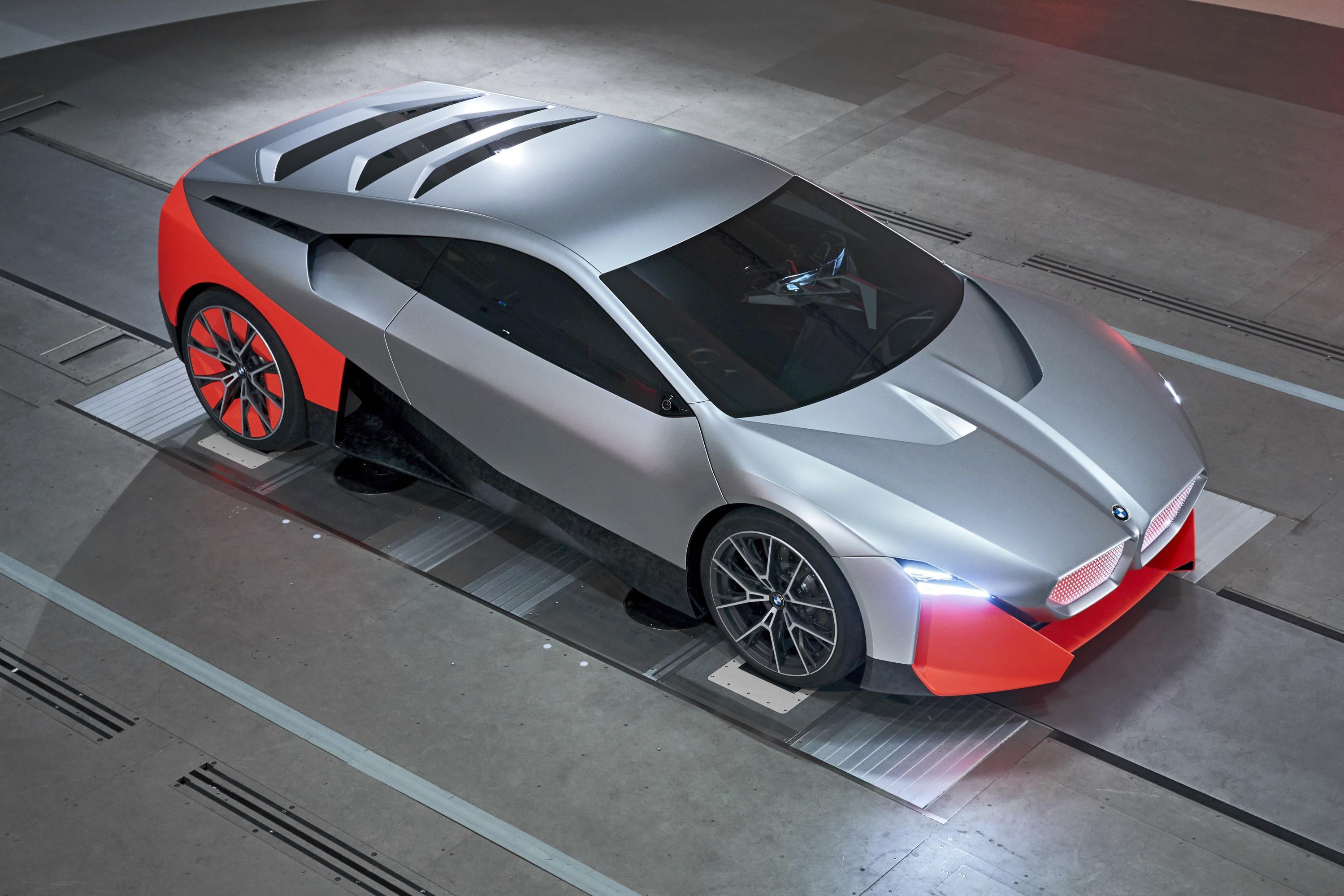 BMW M Next Top View