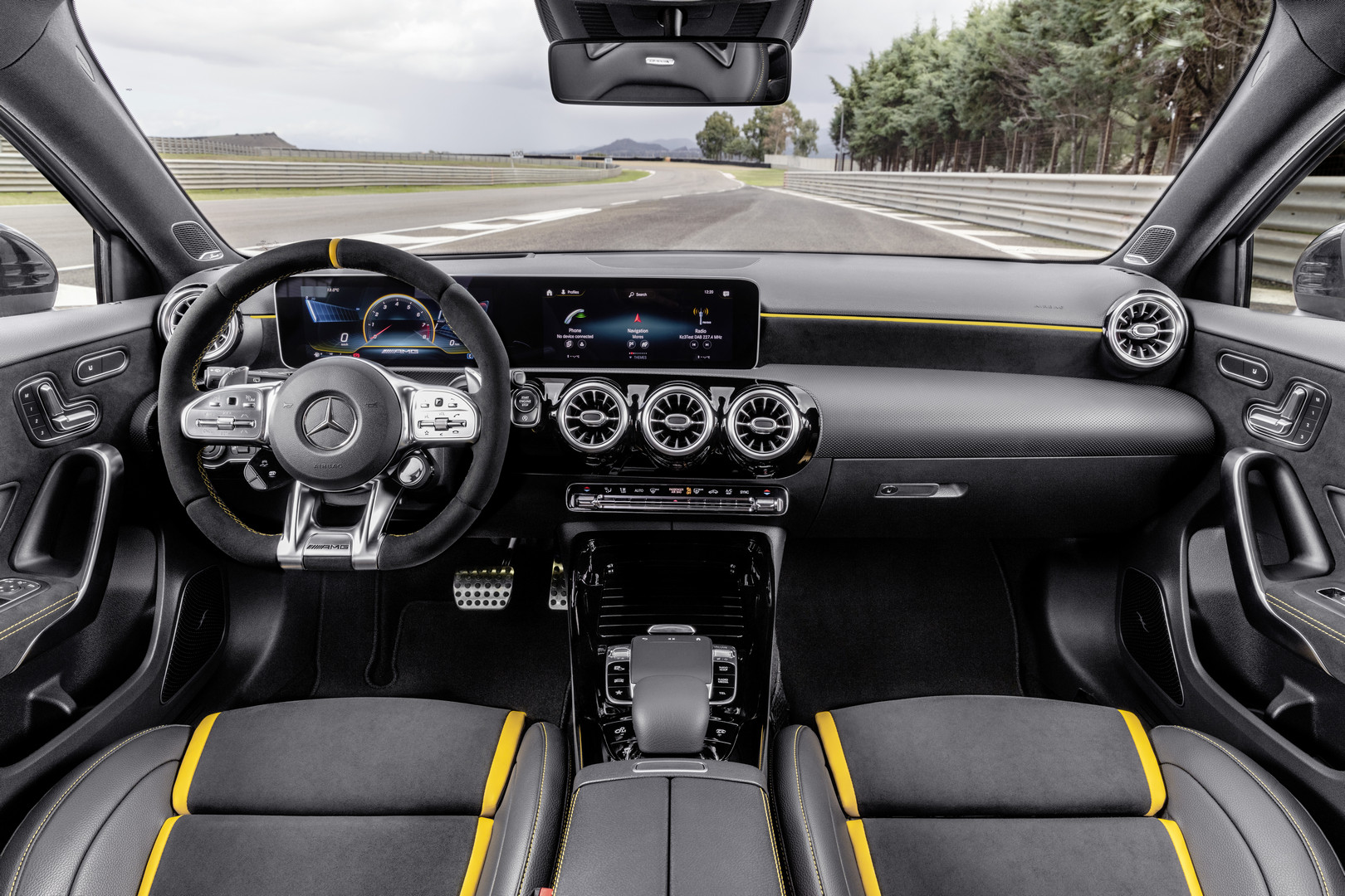 2020 Mercedes-AMG A45 S Screen Interior