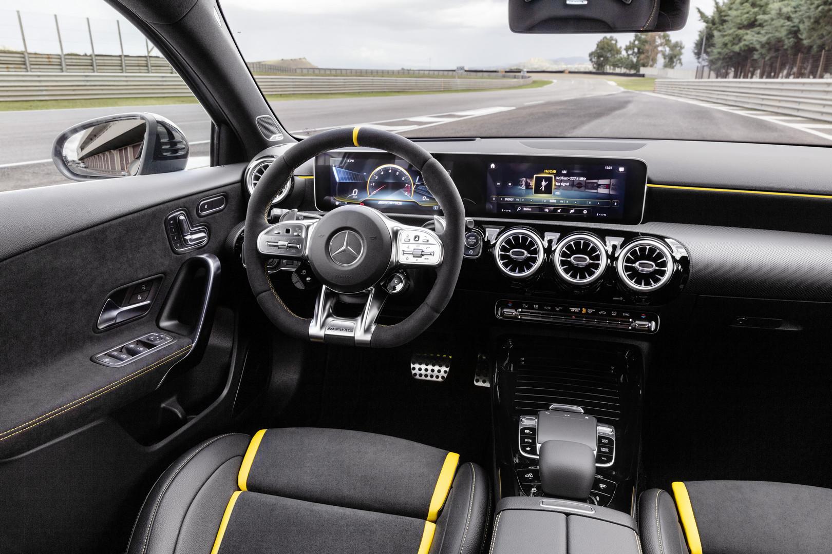 2020 Mercedes-AMG A45 S Interior