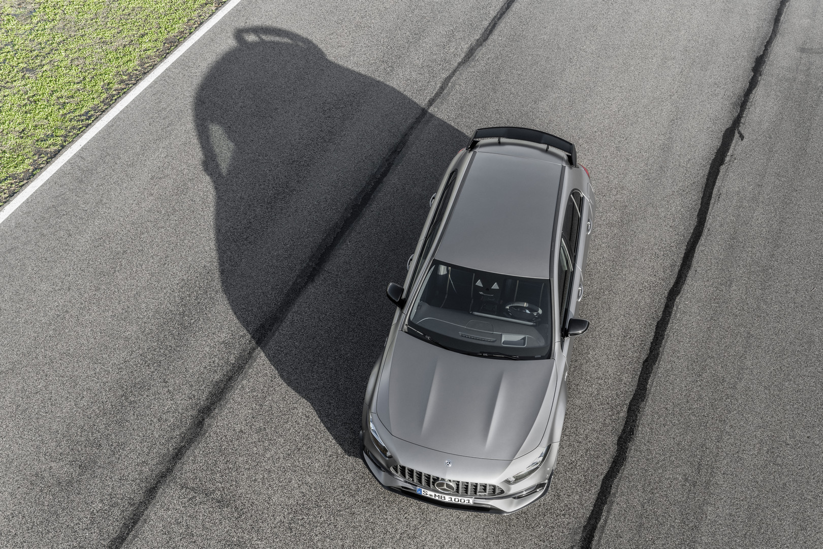 Mercedes-AMG A45 S Top View
