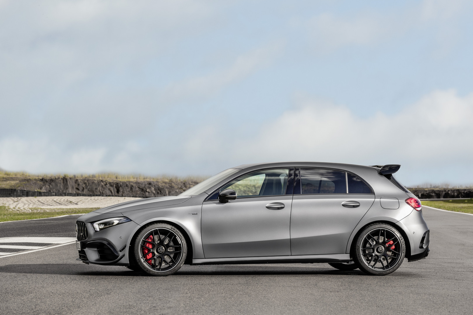 2020 Mercedes-AMG A45 S Side View