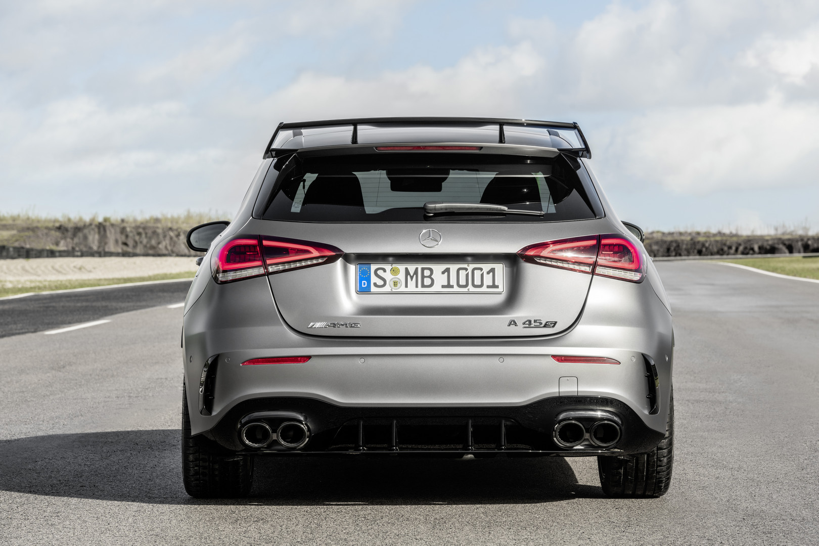 2020 Mercedes-AMG A45 S Rear View