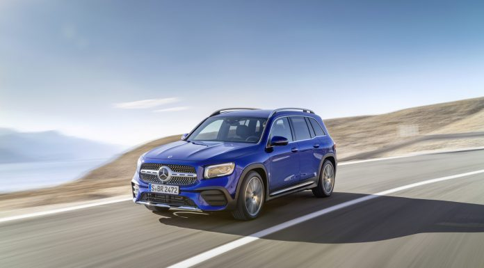 Galaxy Blue Mercedes-Benz GLB