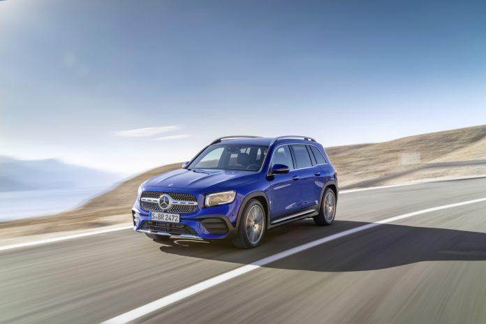 Galaxy Blue Mercedes-Benz GLB