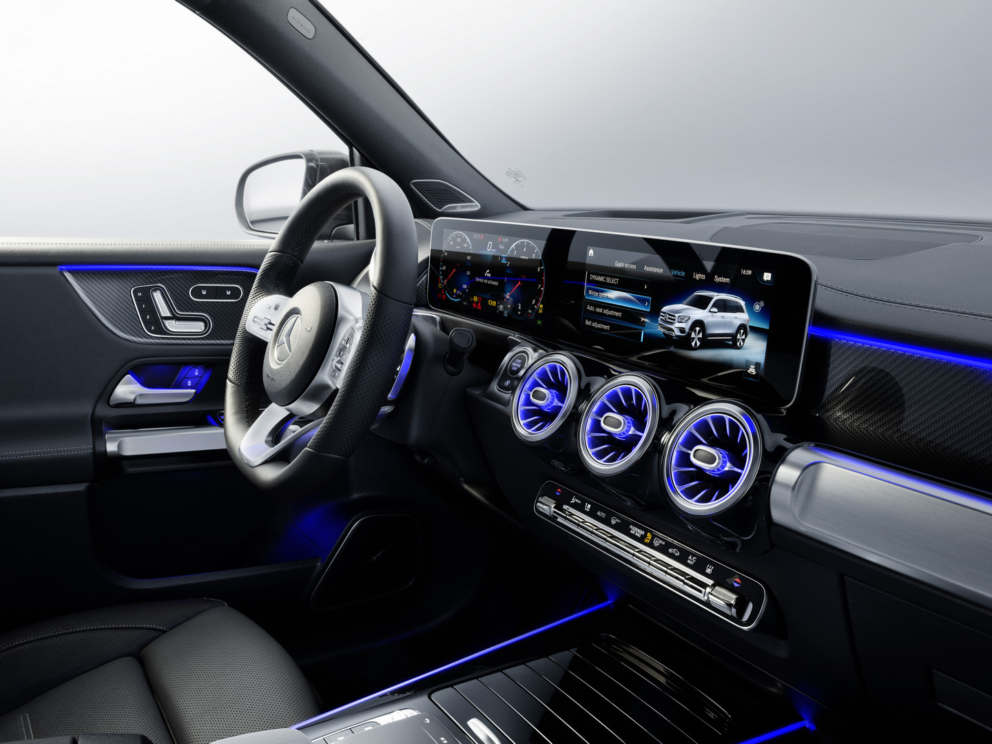 Mercedes-Benz GLB Interior Lights