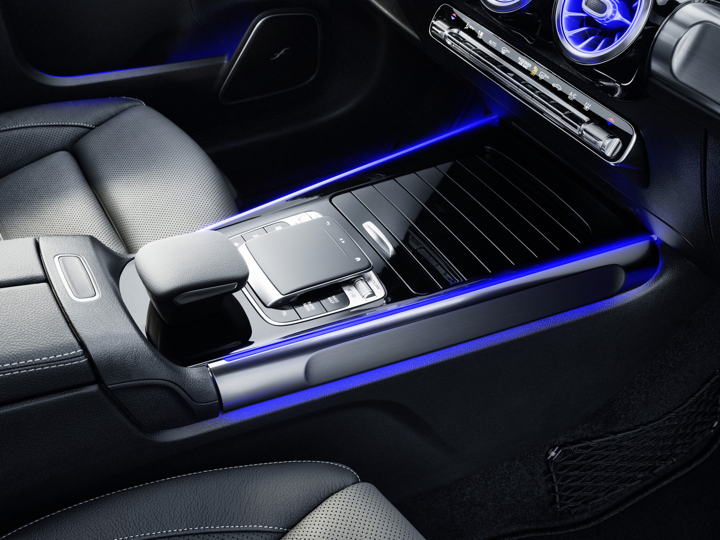 Mercedes-Benz GLB Center Console