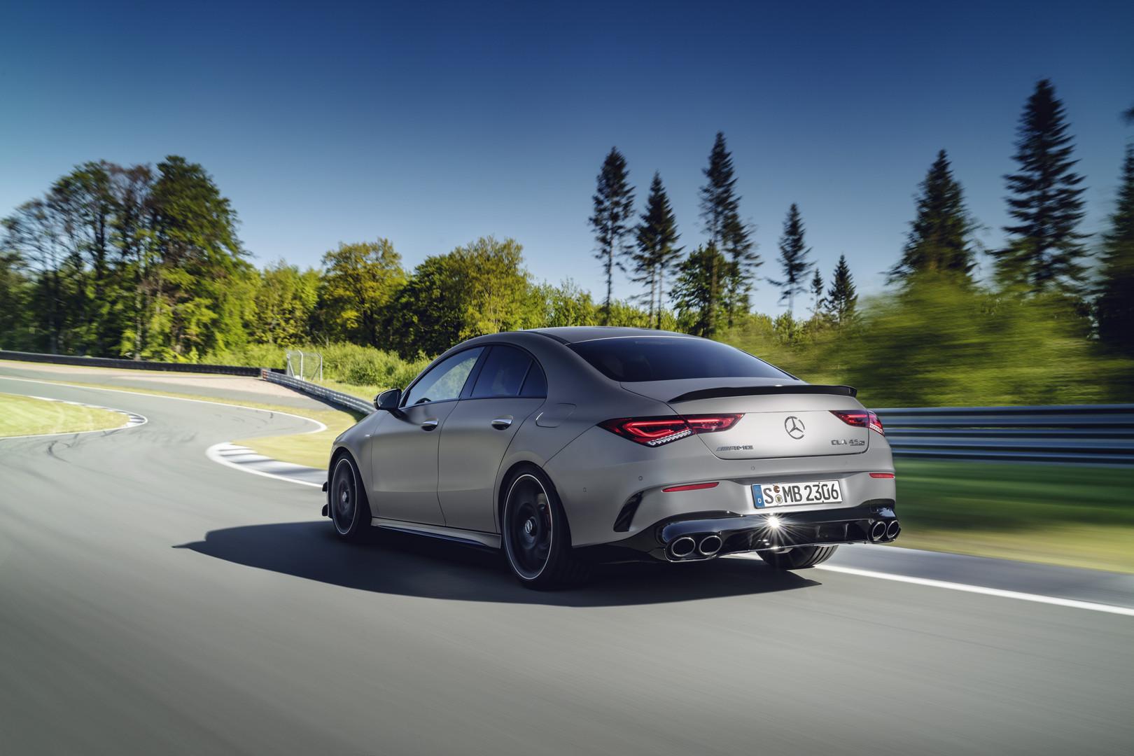 Grey Mercedes-AMG CLA 45 S