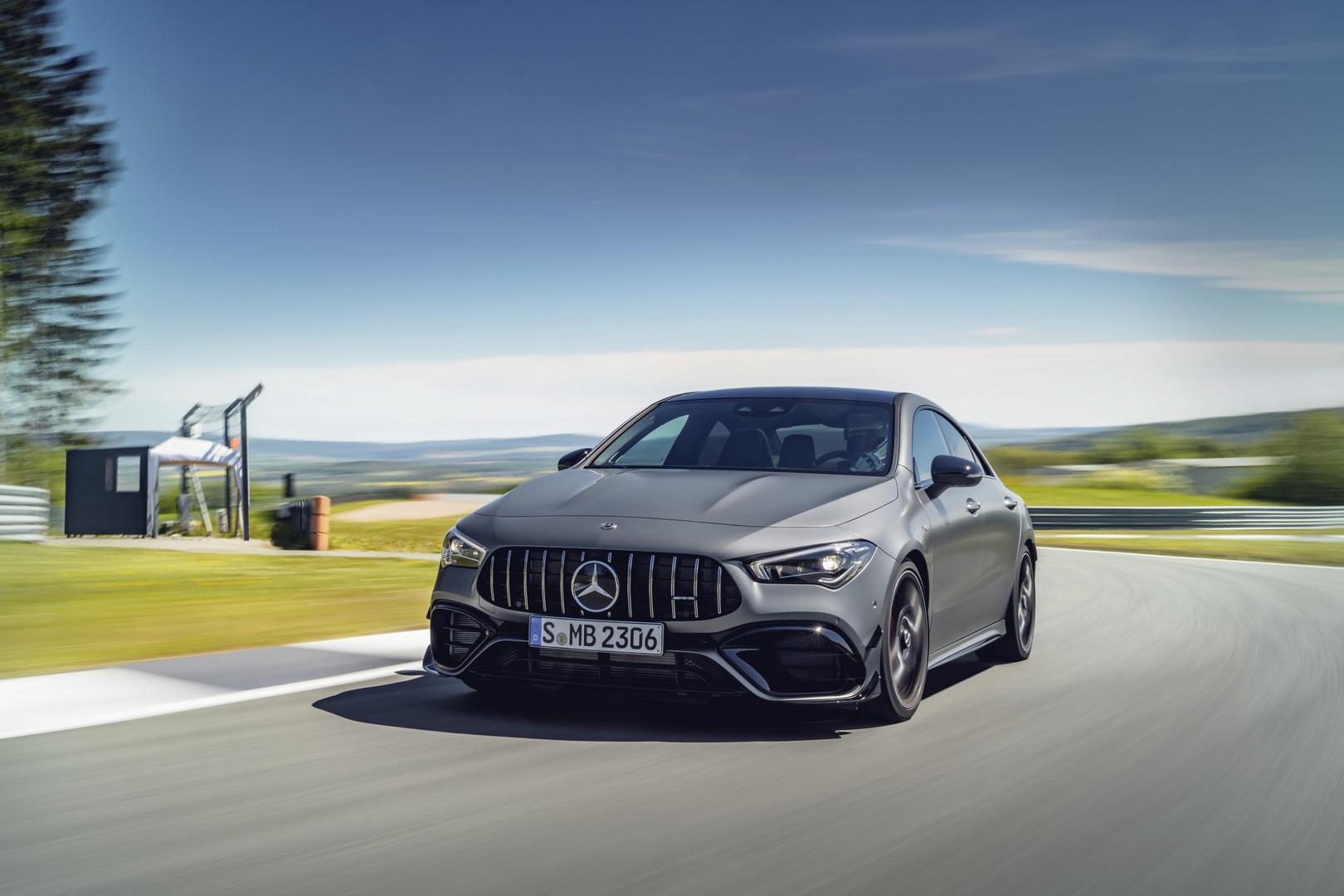2020 Mercedes-AMG CLA 45 S