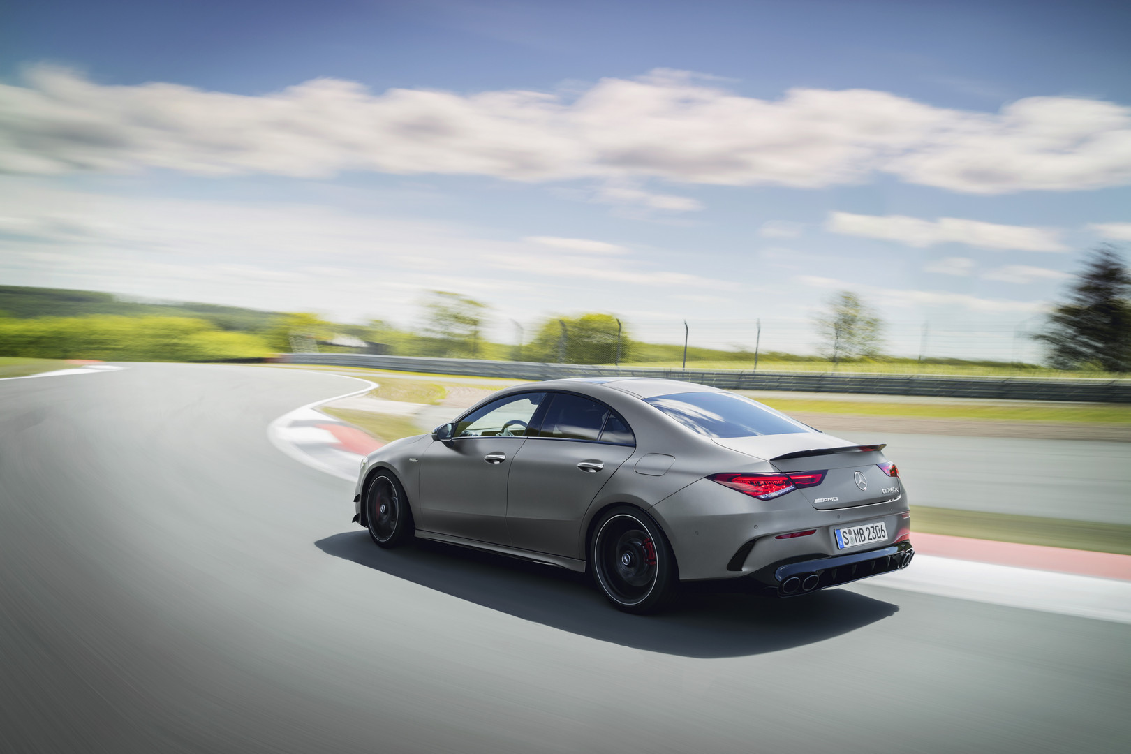 2020 Mercedes-AMG CLA 45 S Side View