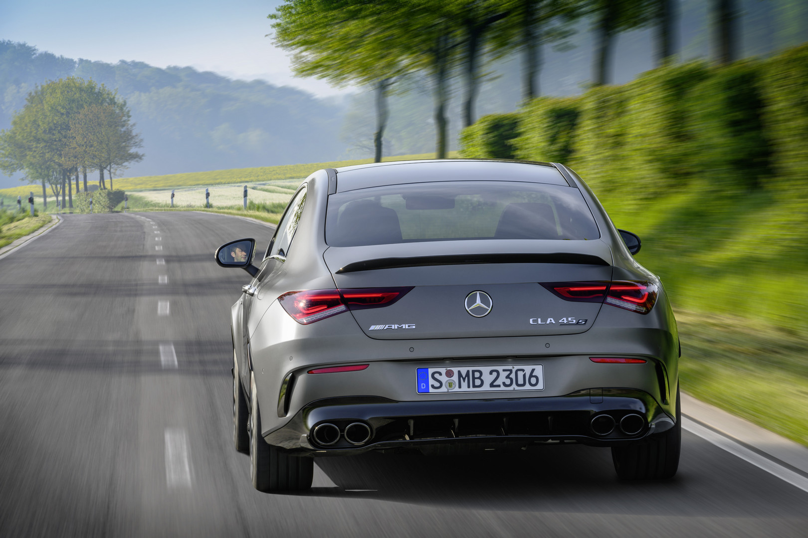 2020 Mercedes-AMG CLA 45 S Rear View