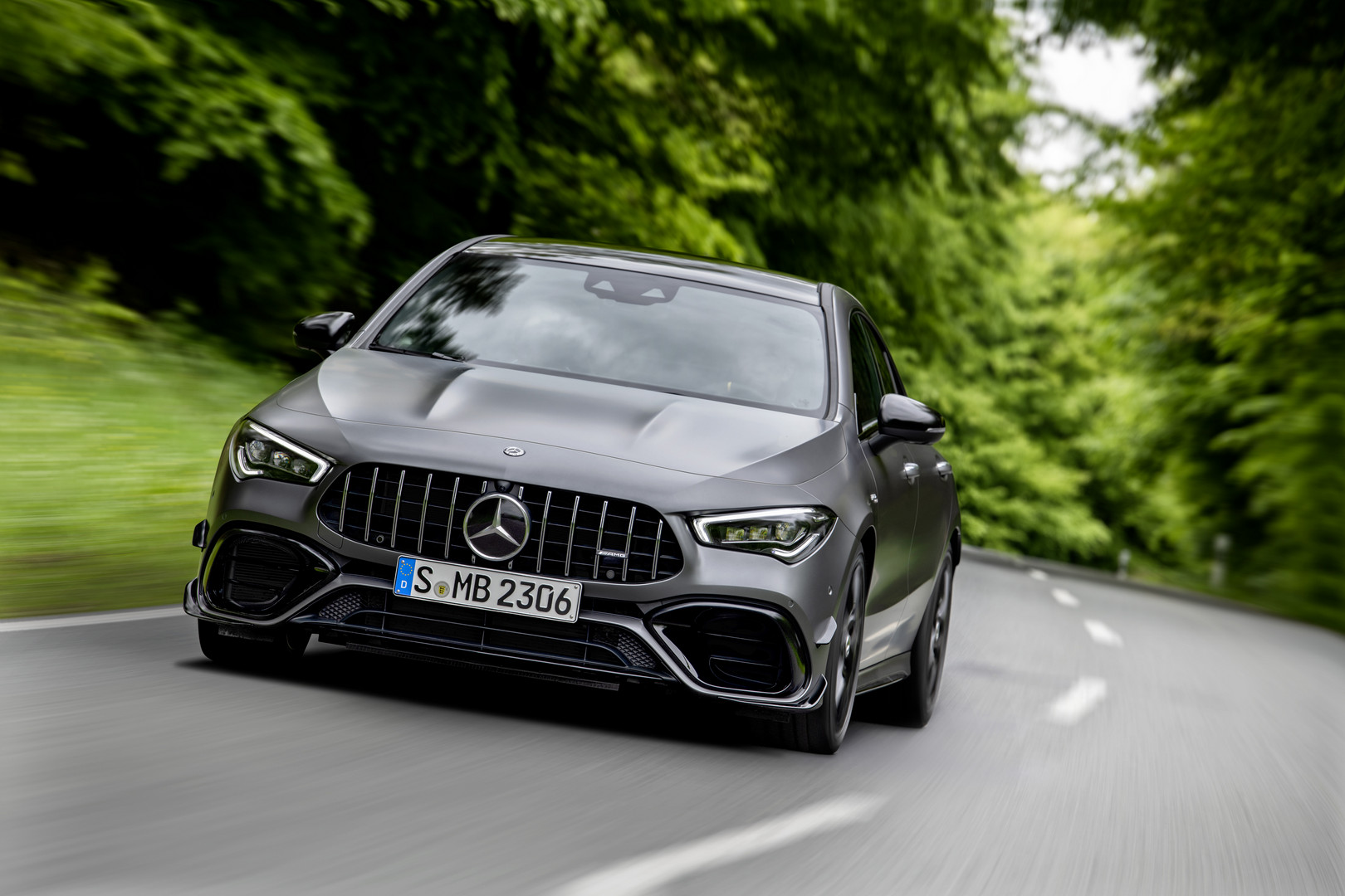 2020 Mercedes-AMG CLA 45 S Front Grille