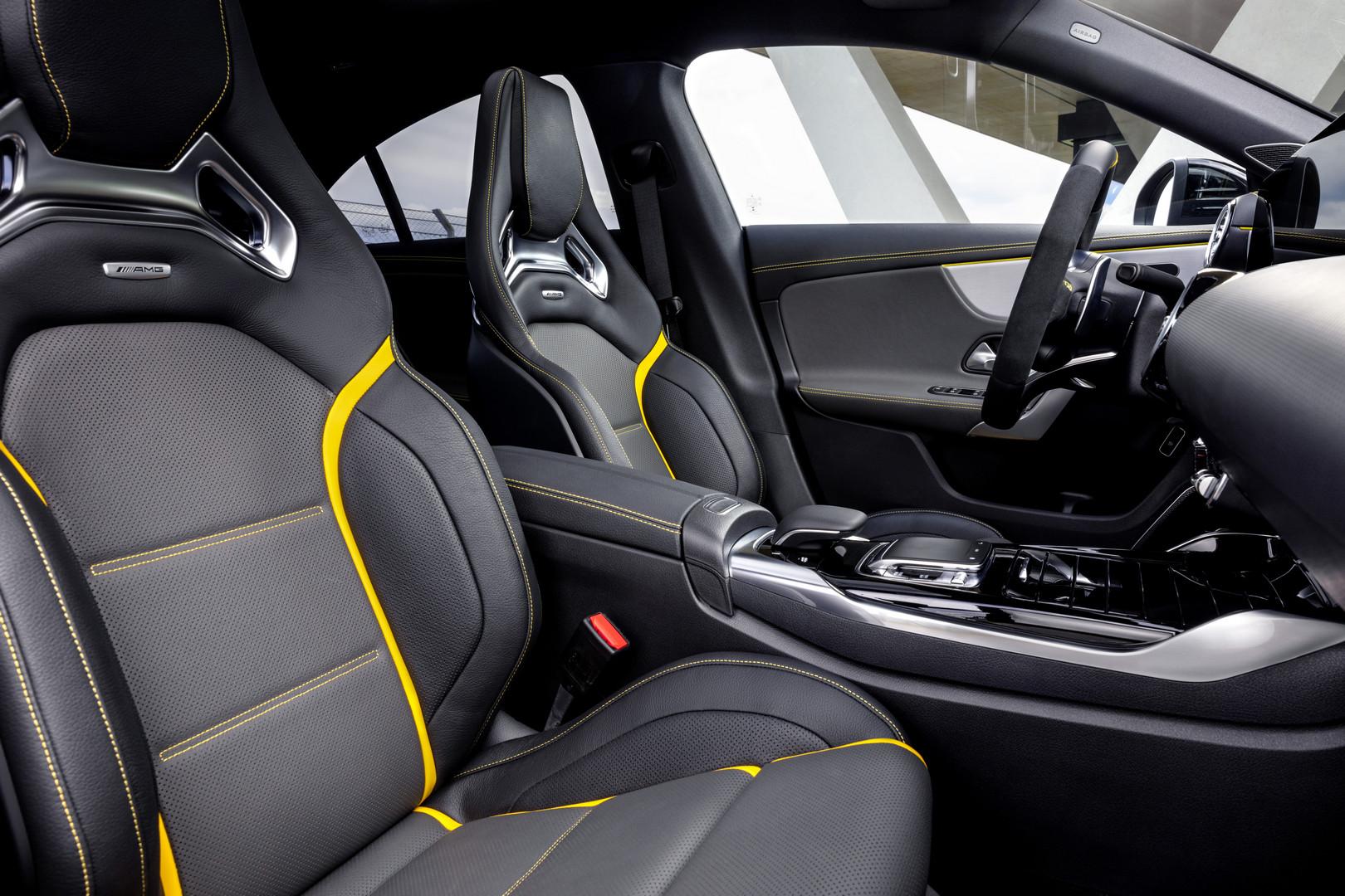 2020 Mercedes-AMG CLA 45 S Seats