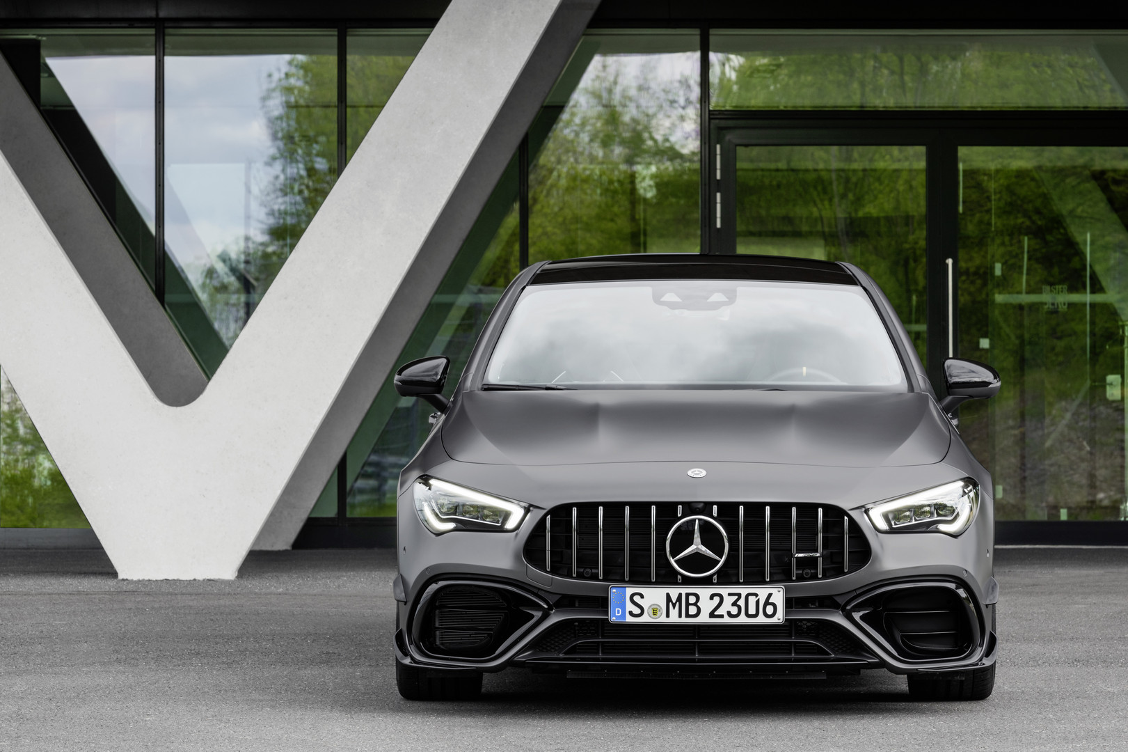 2020 Mercedes-AMG CLA 45 Front View