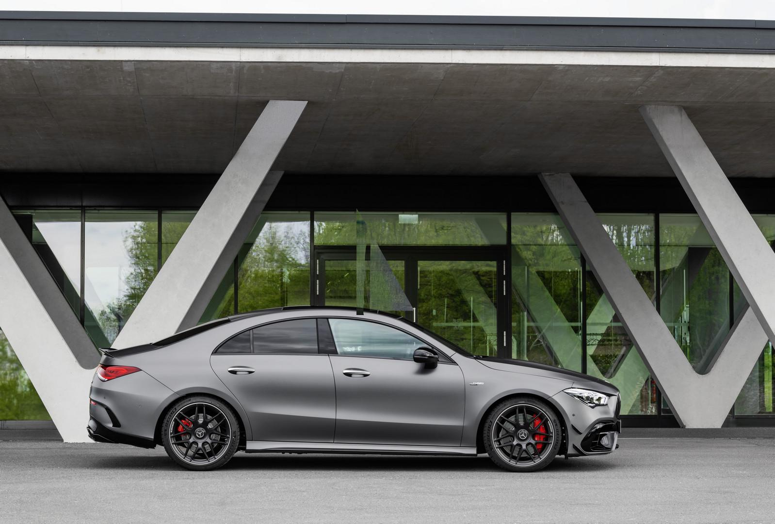 Matte Grey Mercedes-AMG CLA 45 S