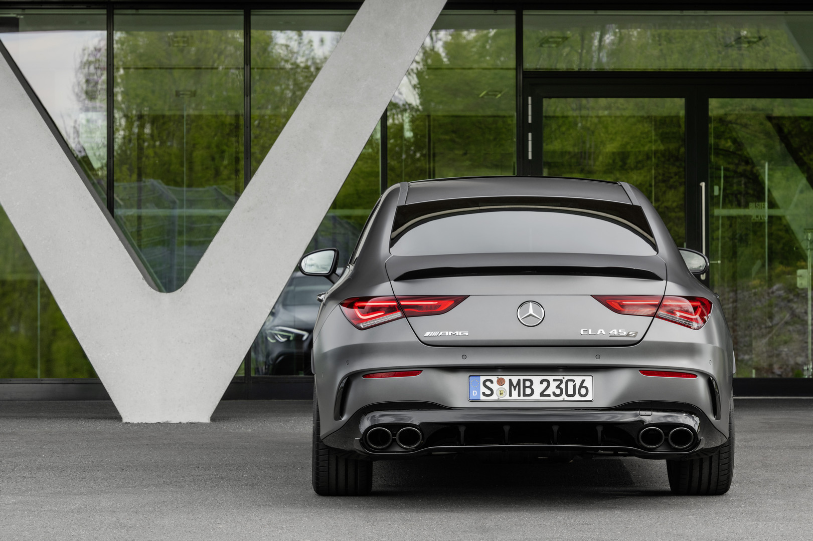 2020 Mercedes-AMG CLA 45 S Rear Lights