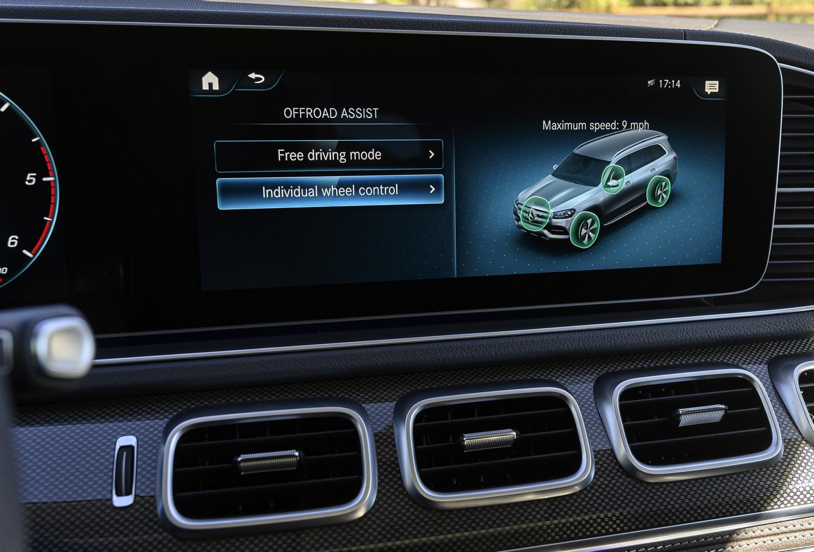 Wheel Control - Mercedes-Benz GLS