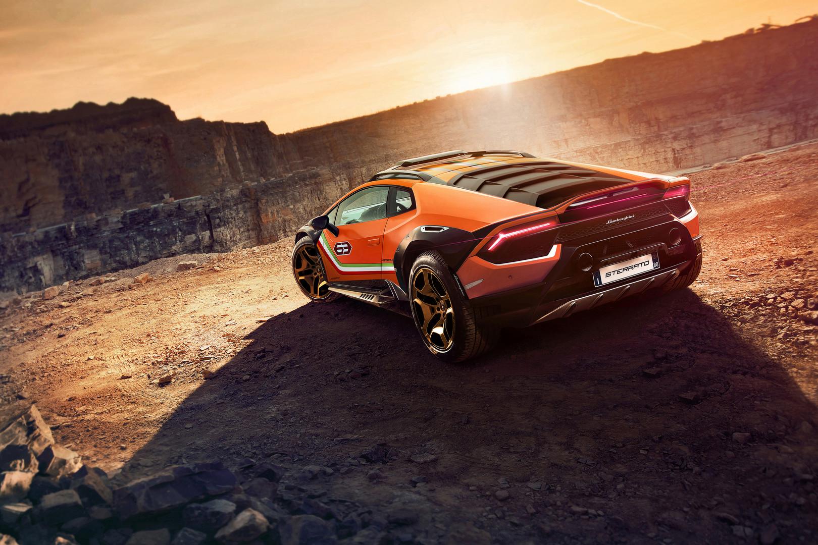 Lamborghini Huracan Sterrato Wallpaper