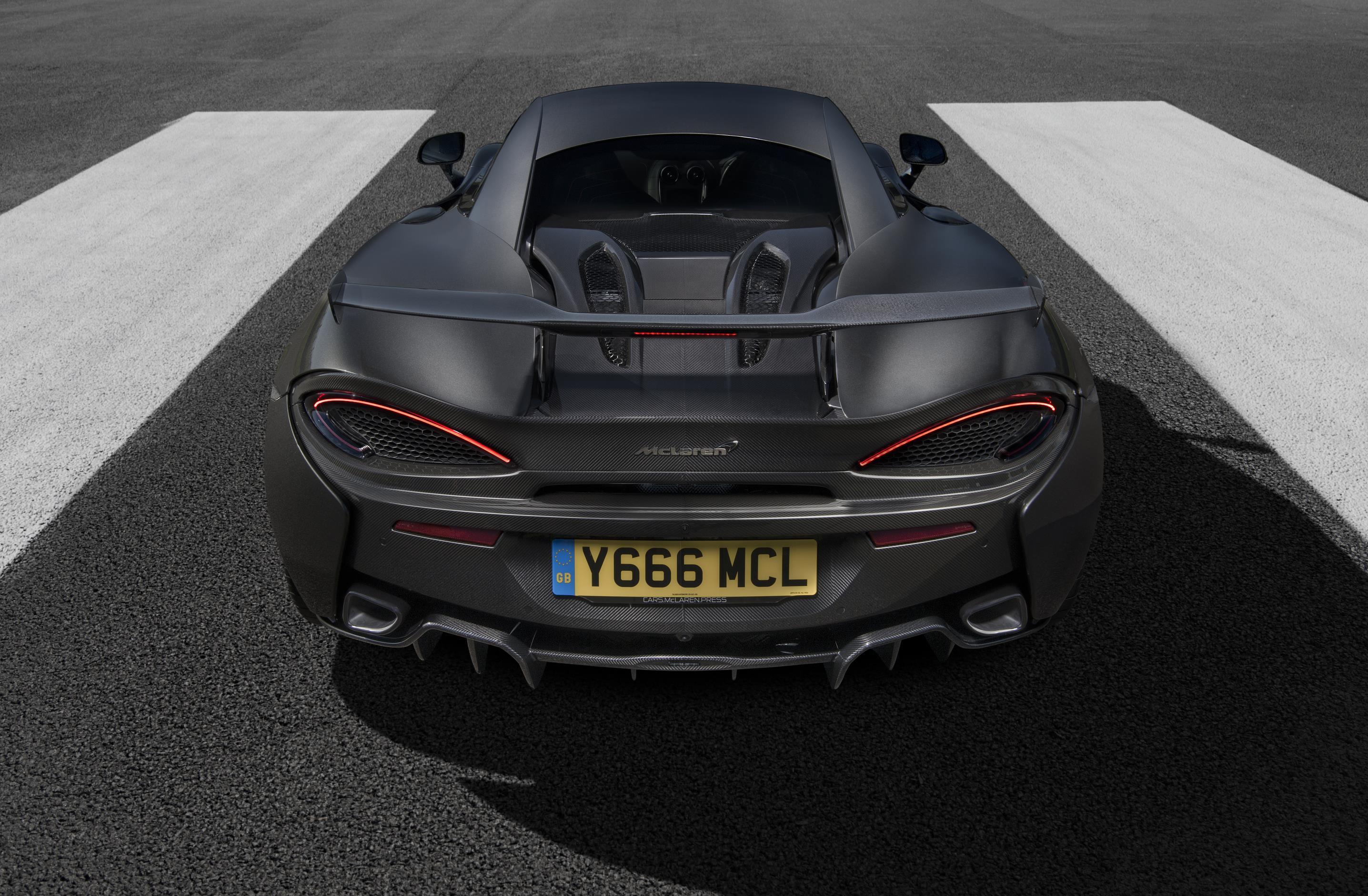 McLaren 570S Rear Wing