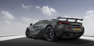 Matte Black McLaren 570S