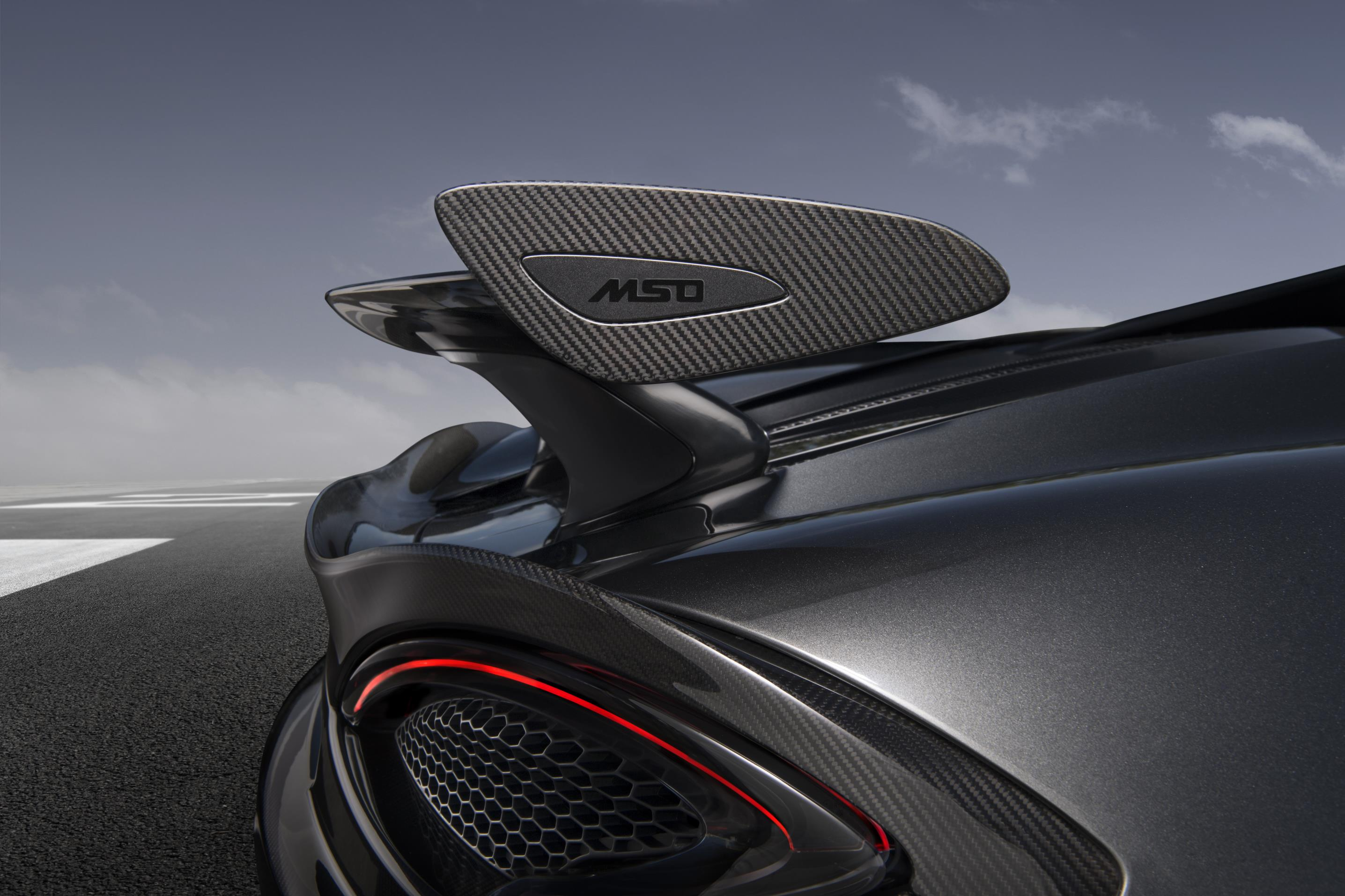 MSO Rear Wing for McLaren 570S