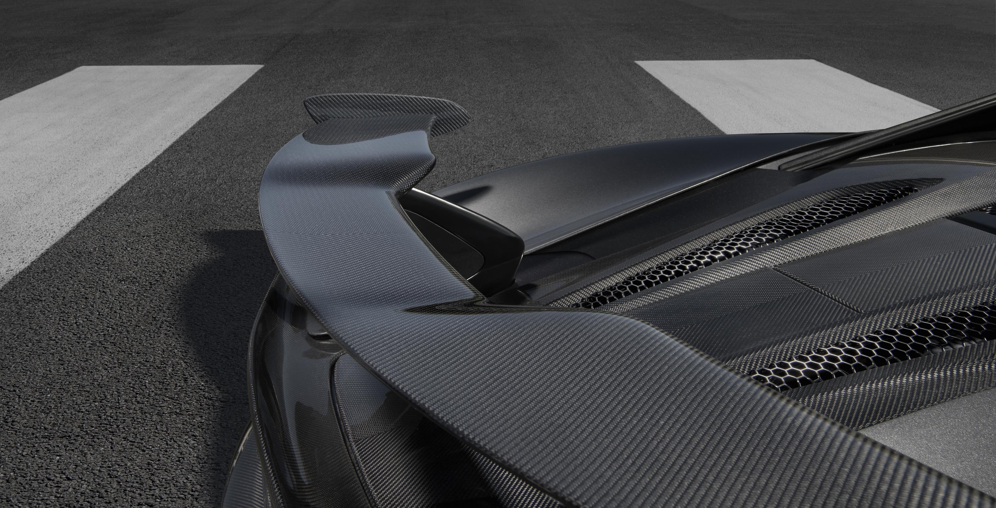 MSO Carbon Fiber Rear Wing