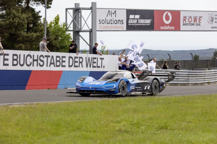Volkswagen ID.R Nurburgring Record 6 minutes 5.336 seconds