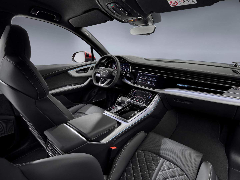 2020 Audi Q7 Screens