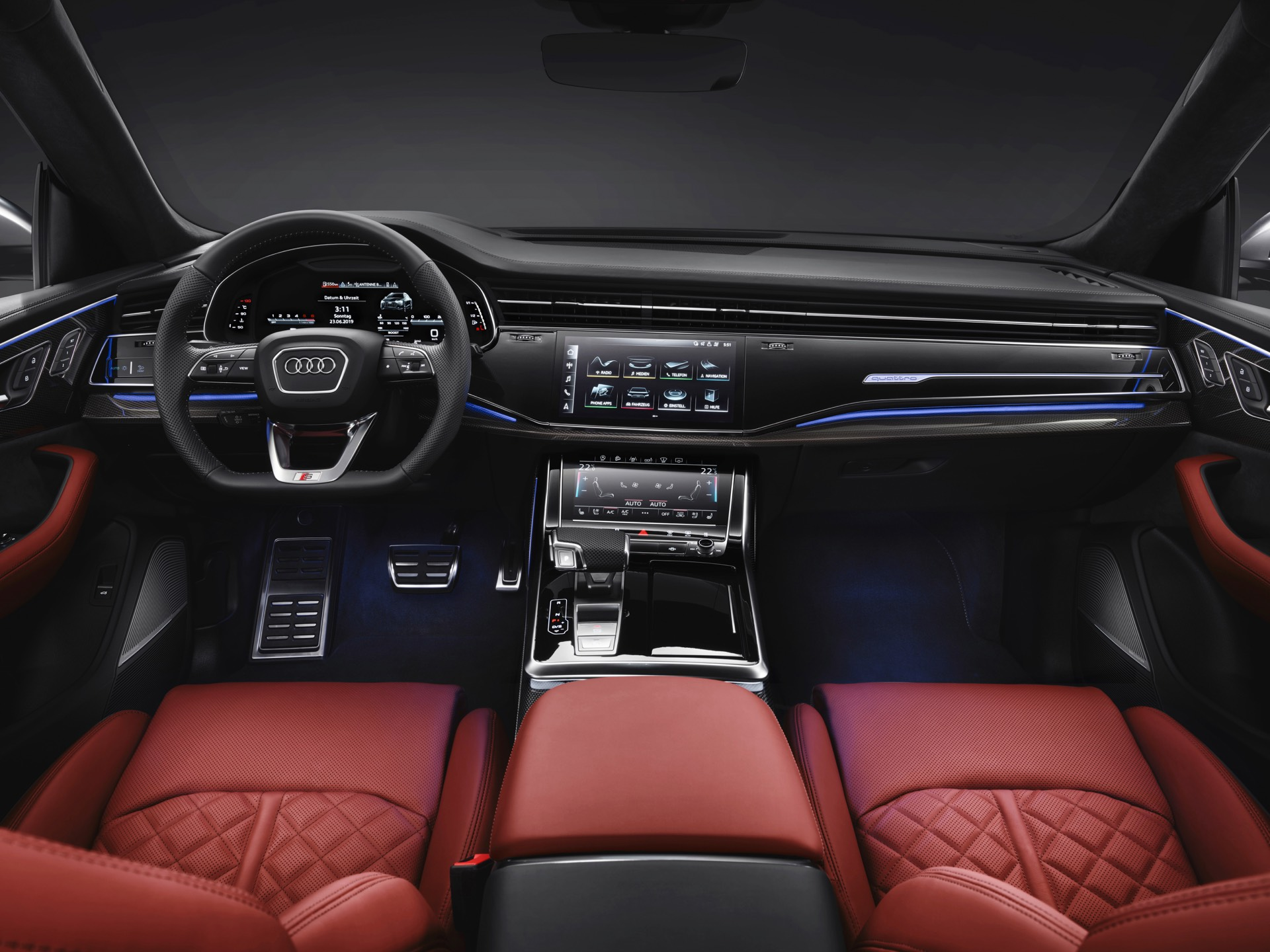 Audi SQ8 TDI Interior