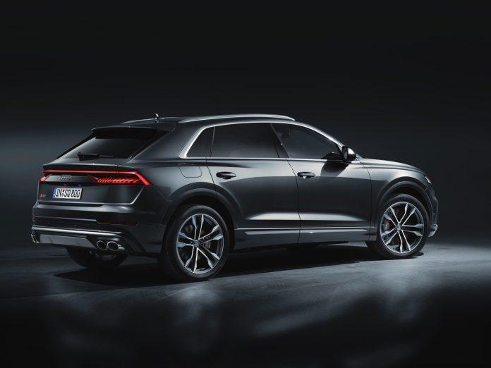 Audi SQ8 TDI Rear Quarter